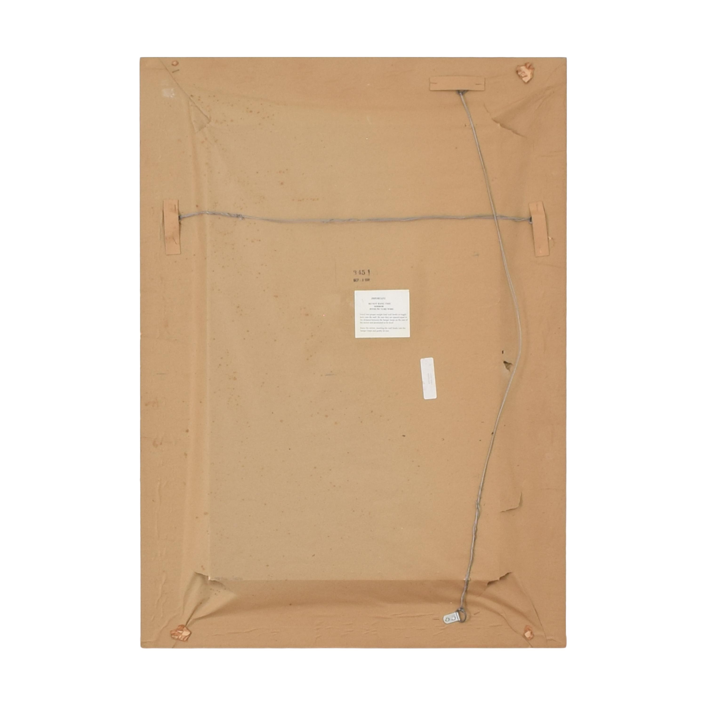 Crate & Barrel Crate & Barrel Framed Mirror for sale
