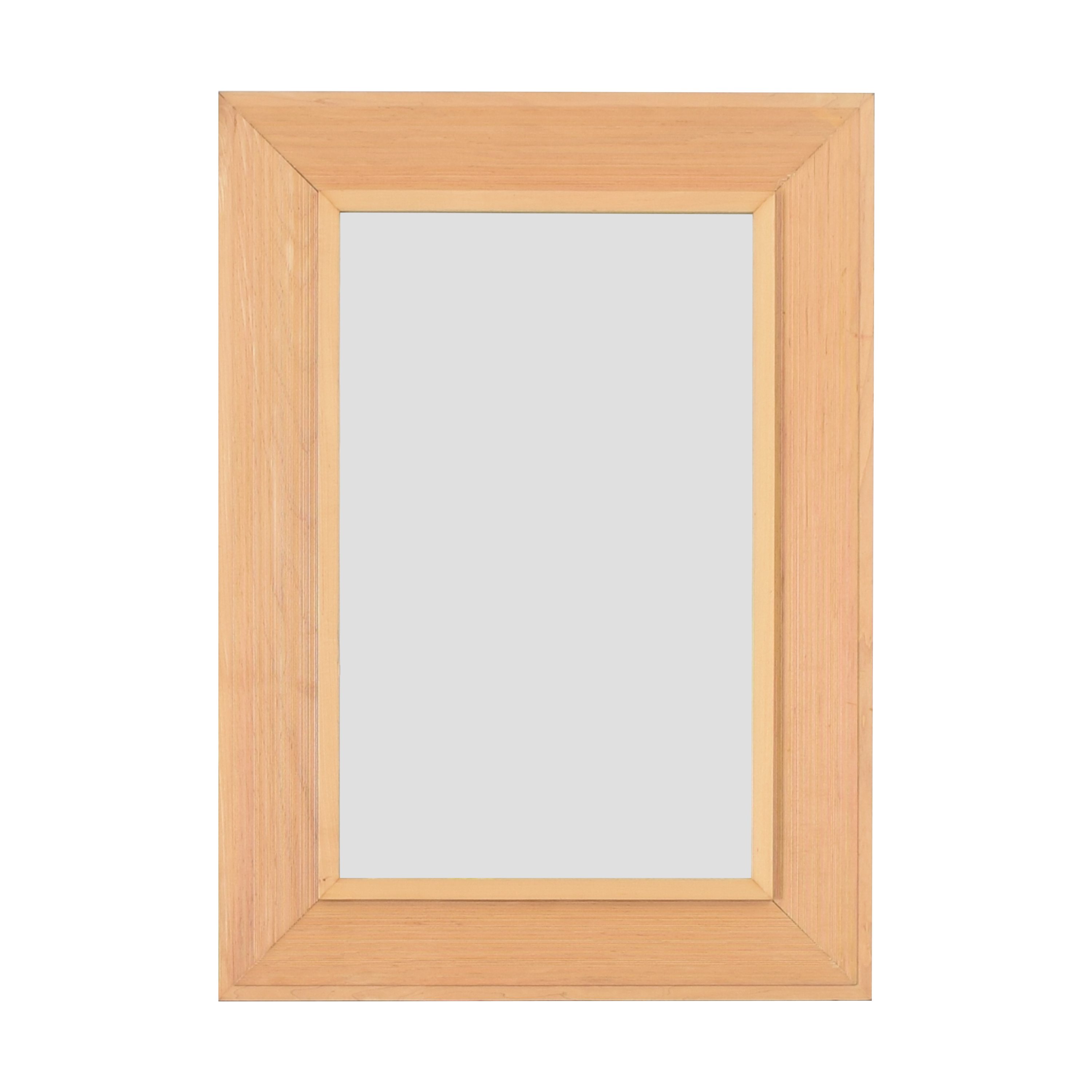 Crate & Barrel Crate & Barrel Framed Mirror on sale