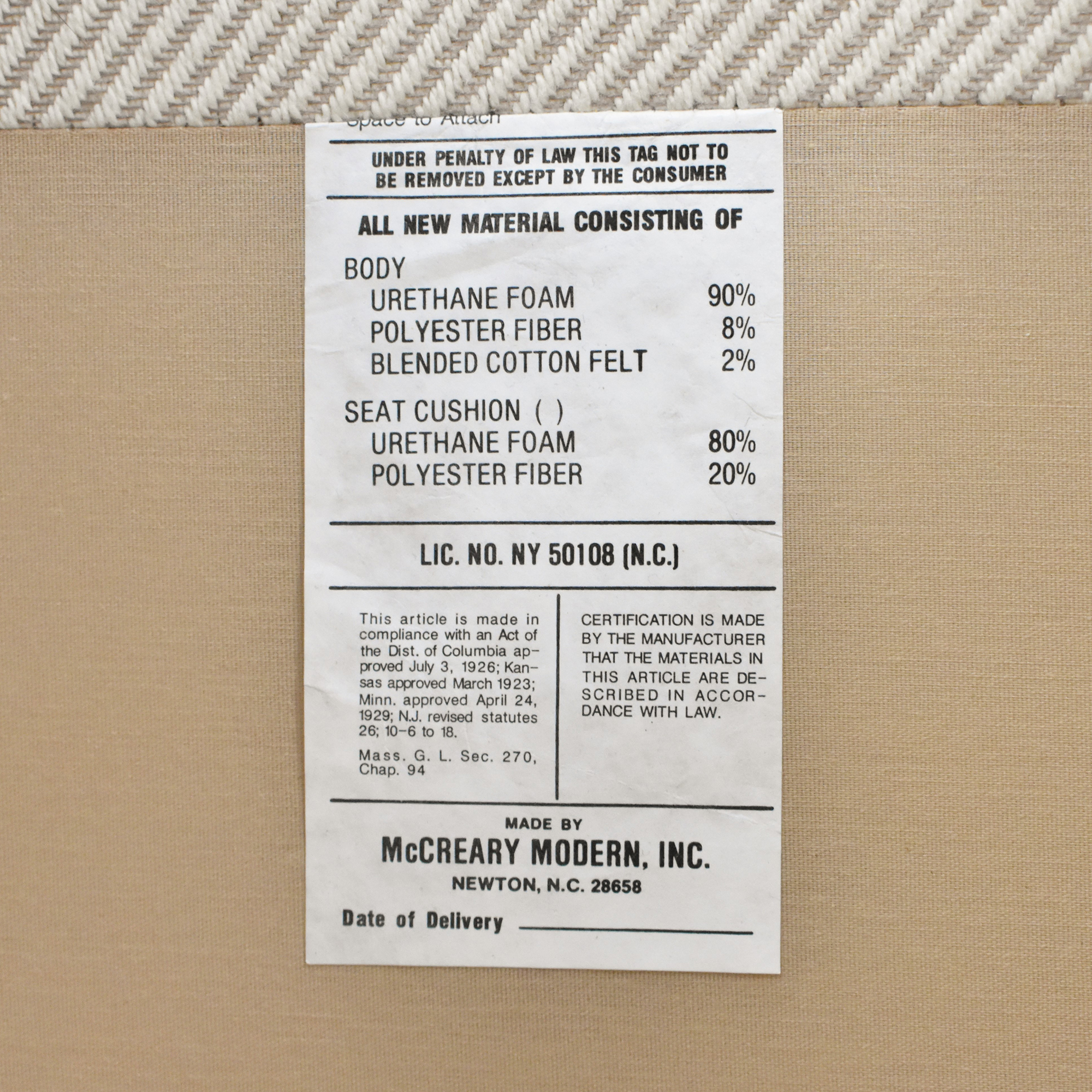 buy McCreary Modern English Roll Arm Sofa McCreary Modern Classic Sofas
