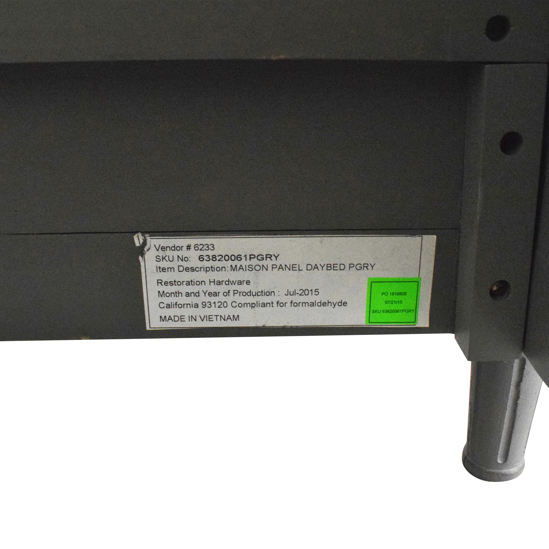 buy Restoration Hardware Maison Twin Panel Daybed Restoration Hardware Beds