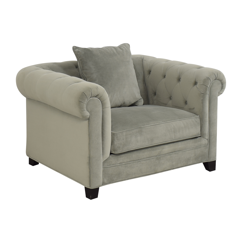 Macy's Macy's Martha Stewart Collection Saybridge Armchair on sale