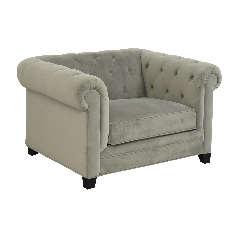 Macy's Macy's Martha Stewart Collection Saybridge Armchair for sale