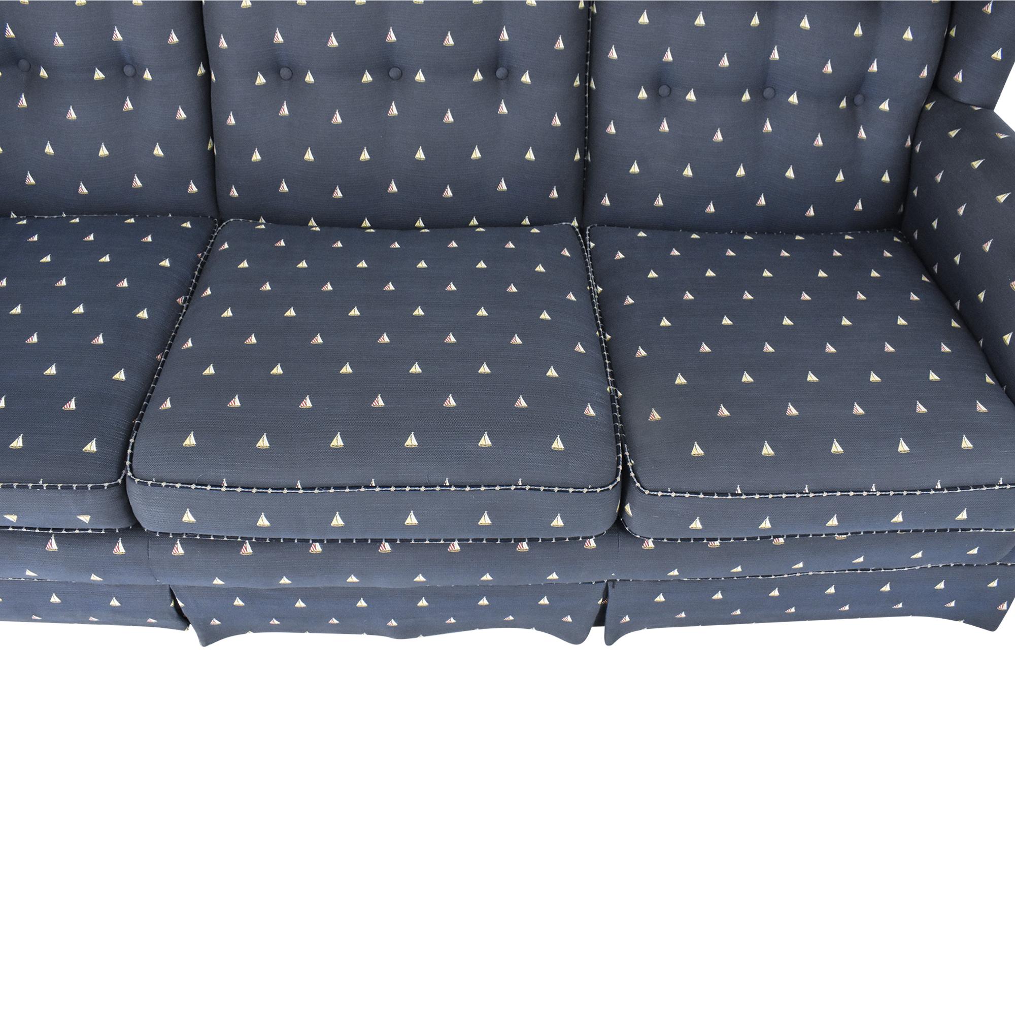 buy Nautical Patterned Three Cushion Sofa  Sofas