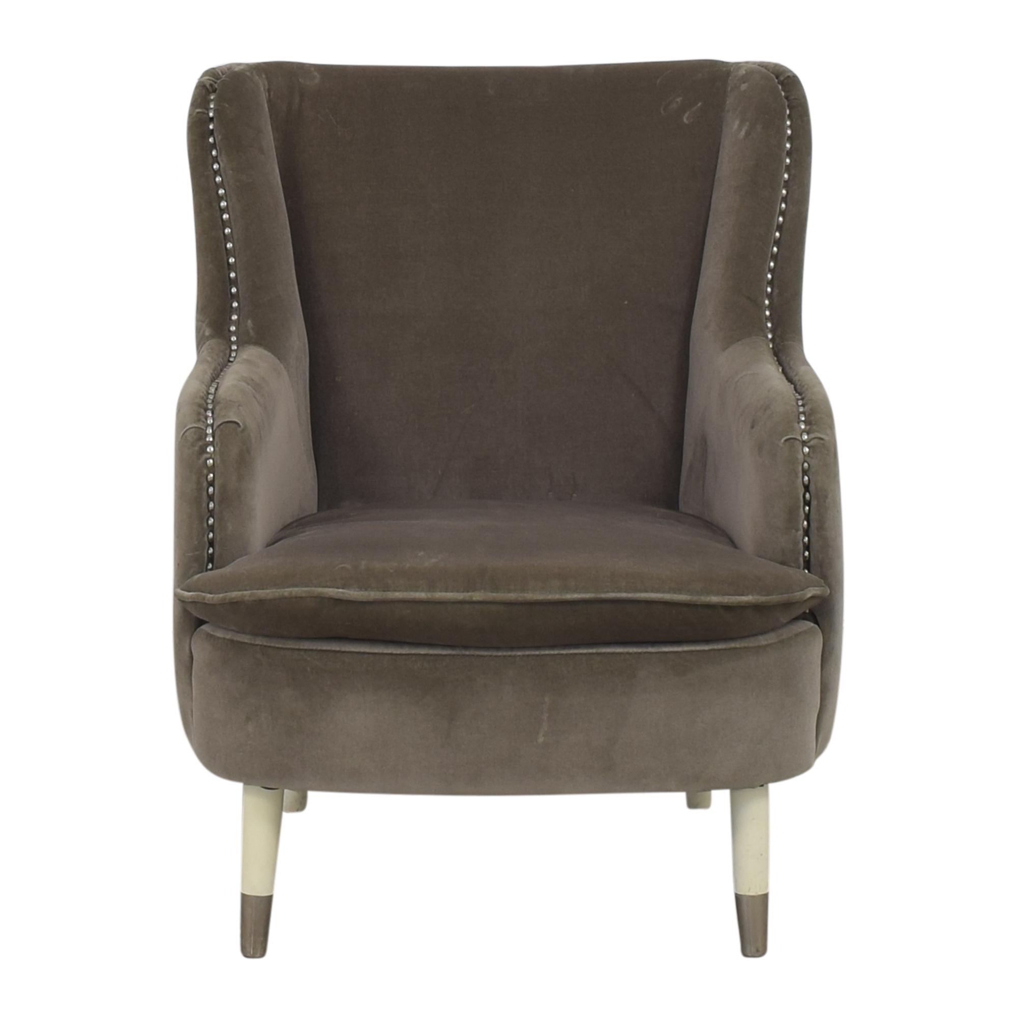 Jonathan Adler Jonathan Adler Nailhead Lounge Chair pa