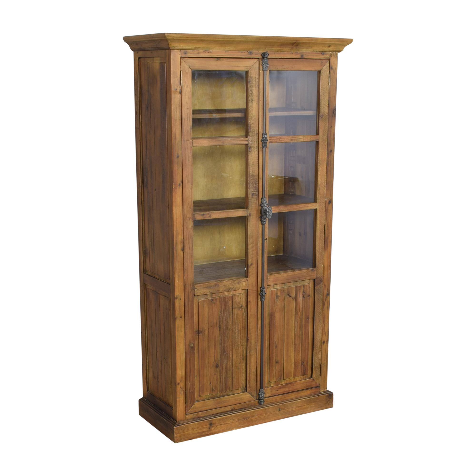 buy Crate & Barrel Bedford Tall Cabinet Crate & Barrel Storage