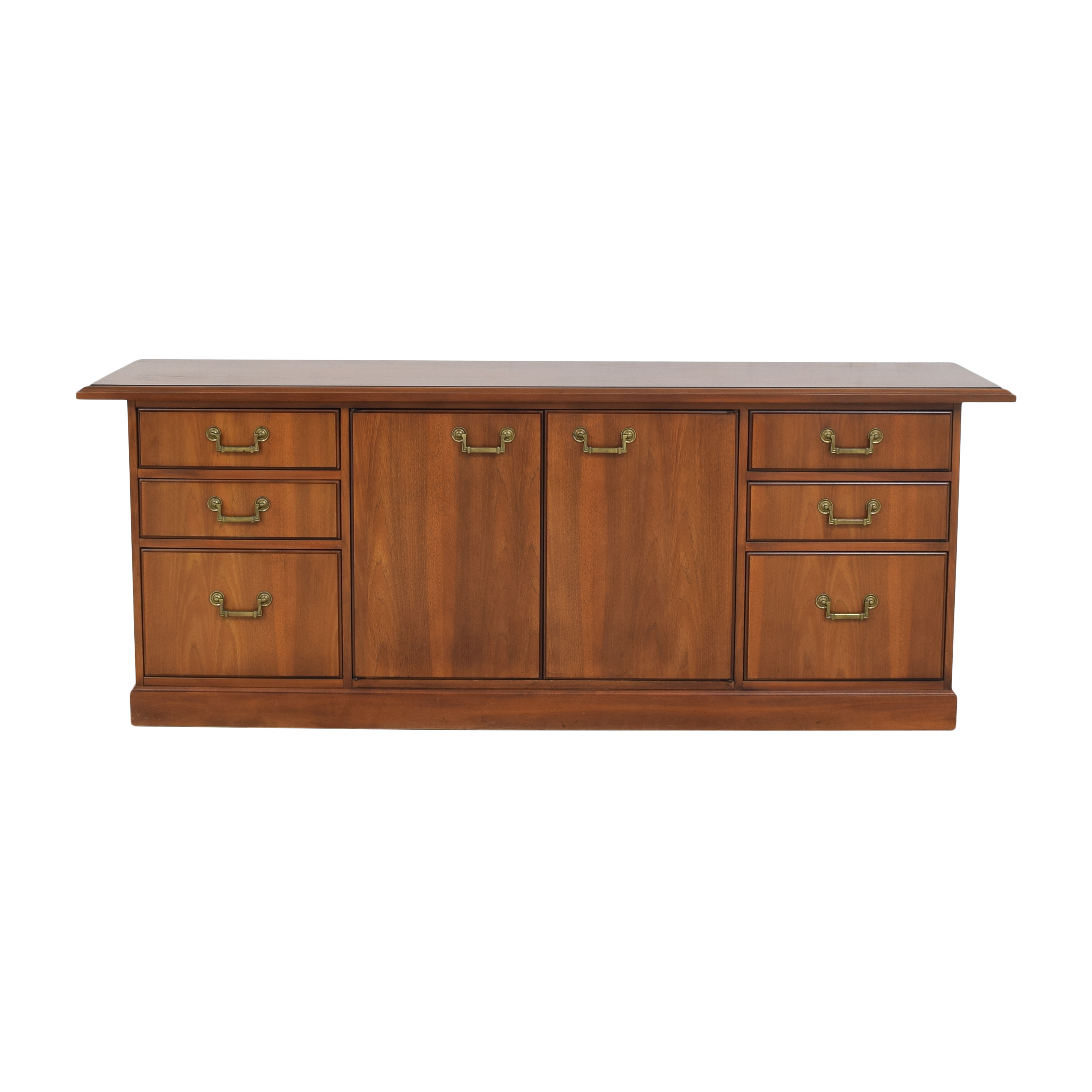 Kimball Kimball Mid Century Executive Credenza brown
