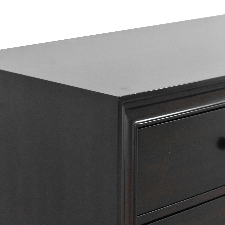 Restoration Hardware Restoration Hardware Portman Nine Drawer Dresser dark brown