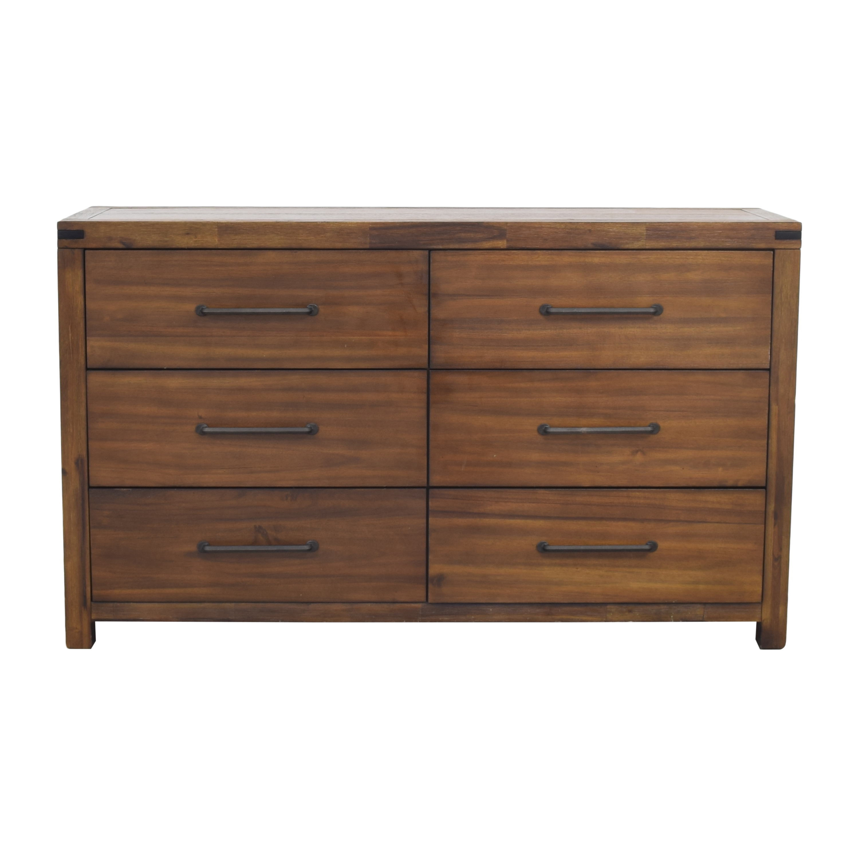 Raymour & Flanigan Raymour & Flanigan Gannon Double Dresser dimensions