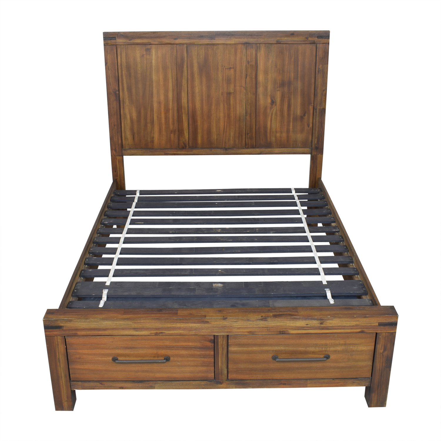 shop Raymour & Flanigan Gannon Storage Queen Bed Raymour & Flanigan Bed Frames