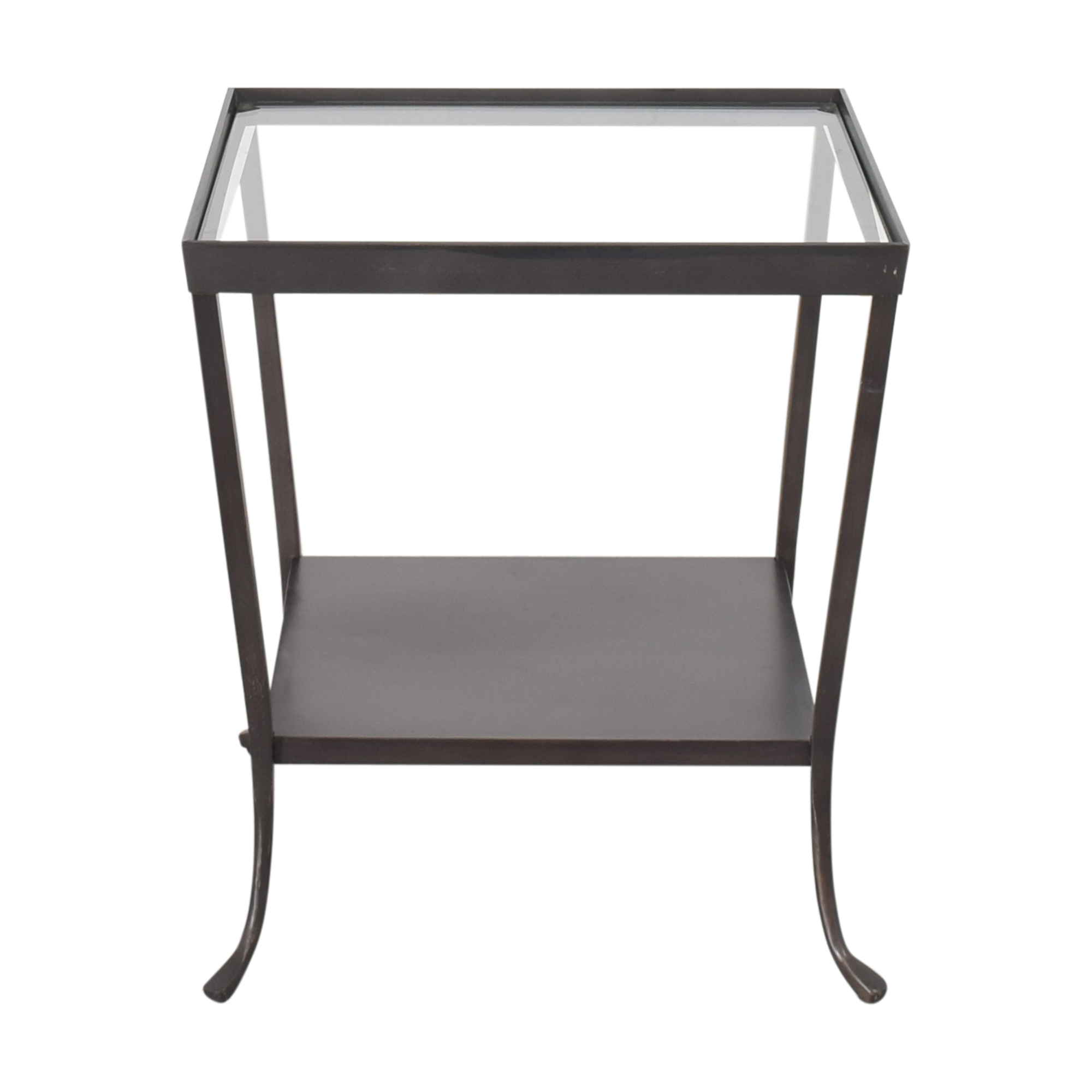 Crate & Barrel Crate & Barrel Square End Table for sale