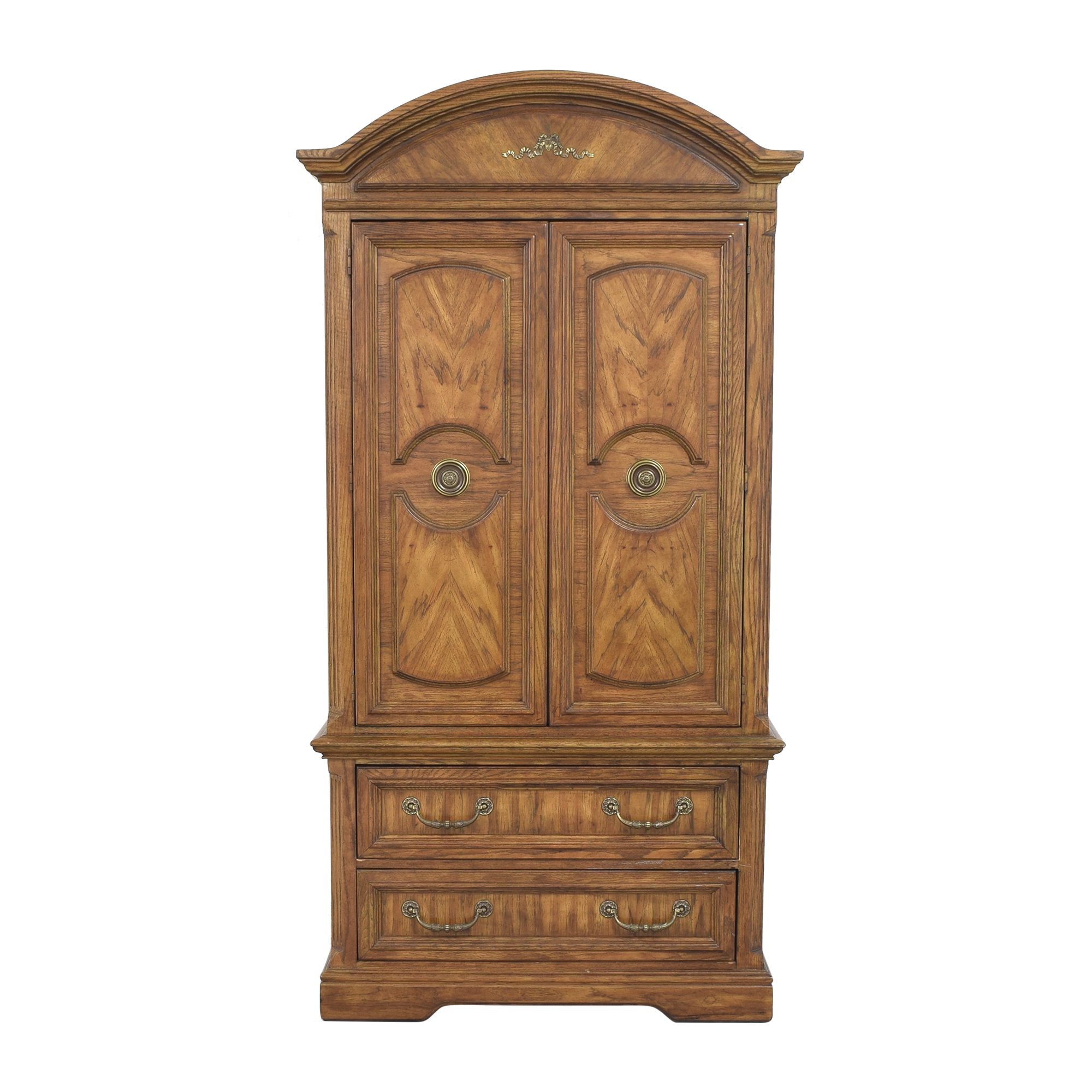 buy Two Door Empire-Style Armoire  Wardrobes & Armoires