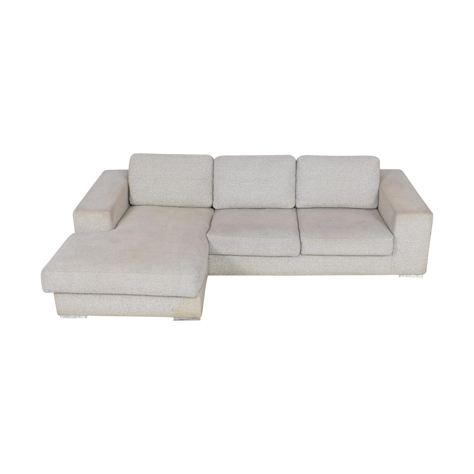 BoConcept BoConcept Chaise Sectional Sofa pa