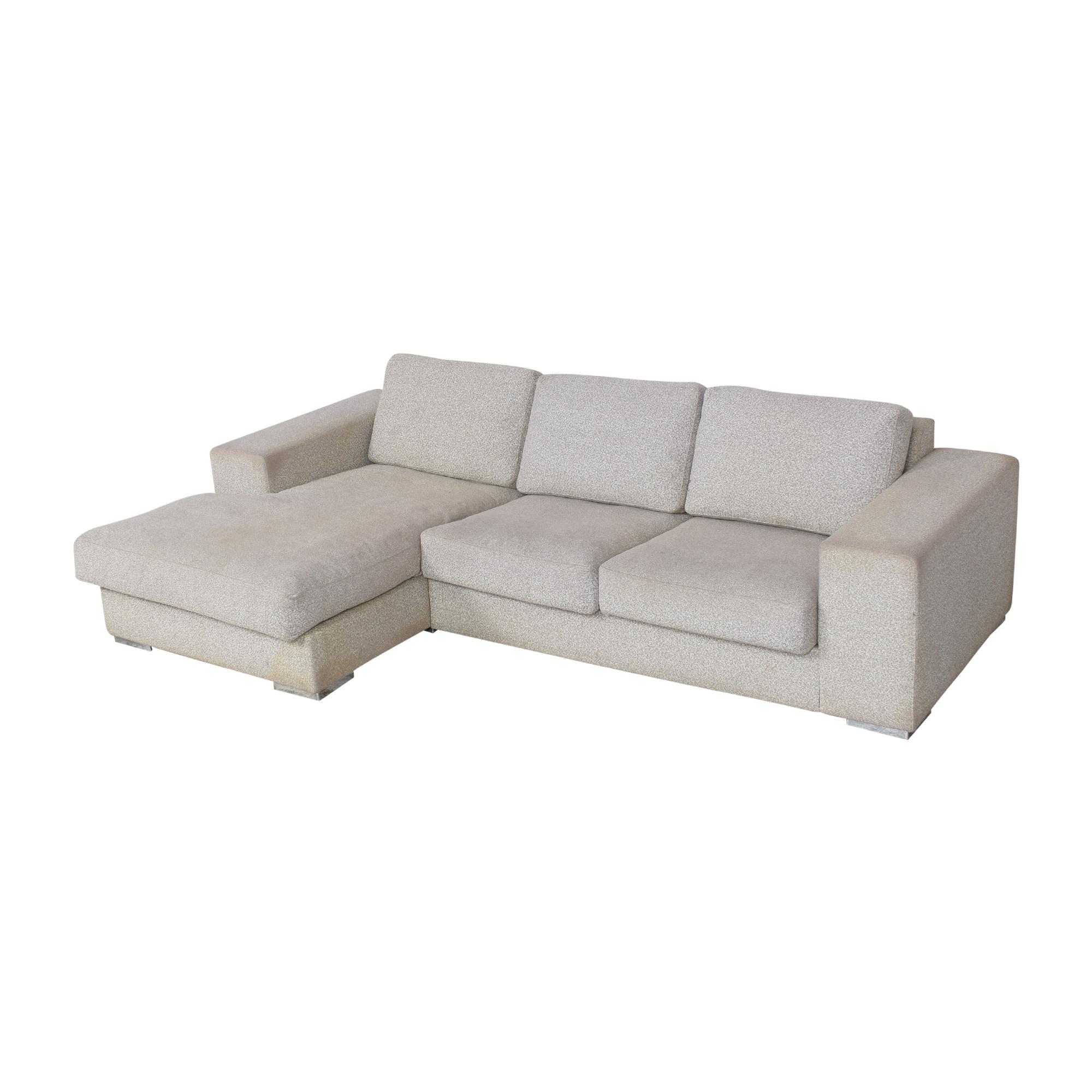 BoConcept Chaise Sectional Sofa sale