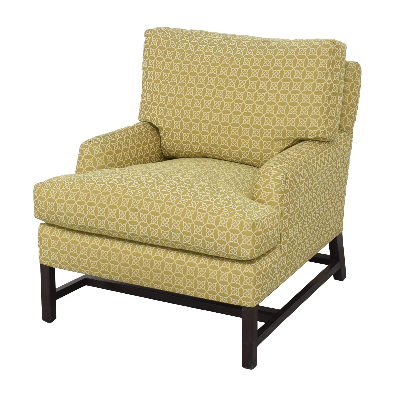A Rudin A Rudin No 681 Chair and Ottoman nj