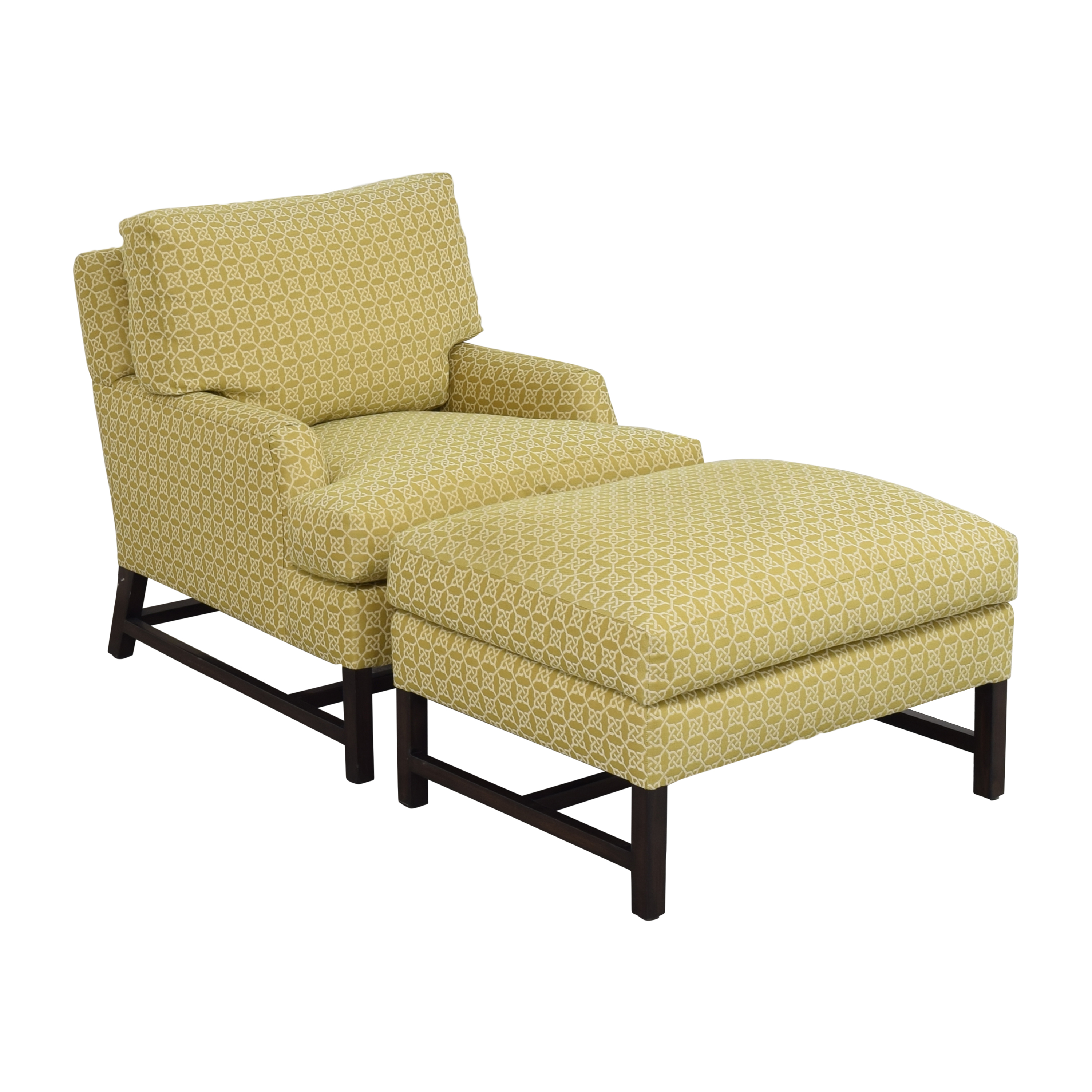 A Rudin A Rudin No 681 Chair and Ottoman on sale