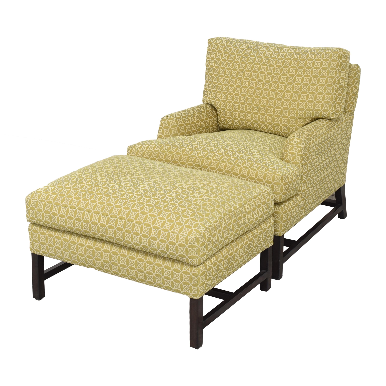 A Rudin A Rudin No 681 Chair and Ottoman ma