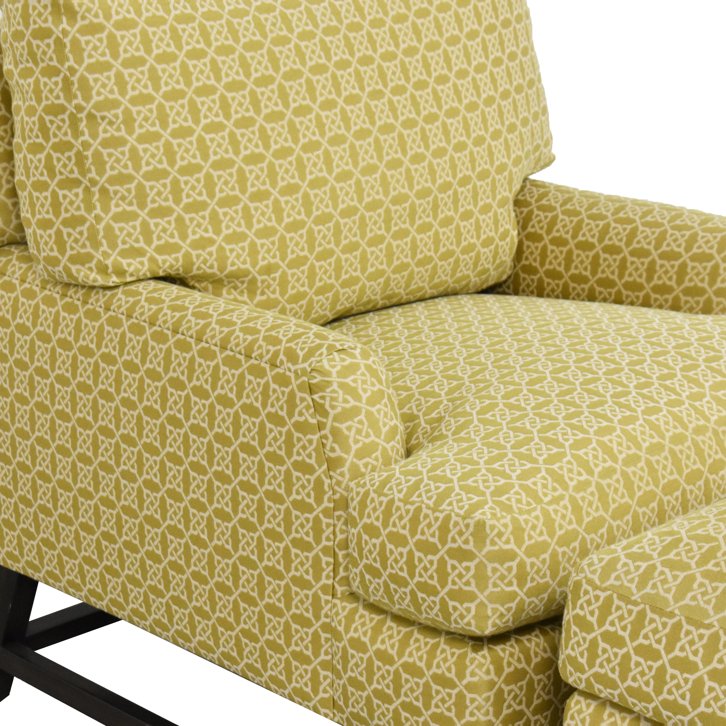 A Rudin No 681 Chair and Ottoman / Chairs