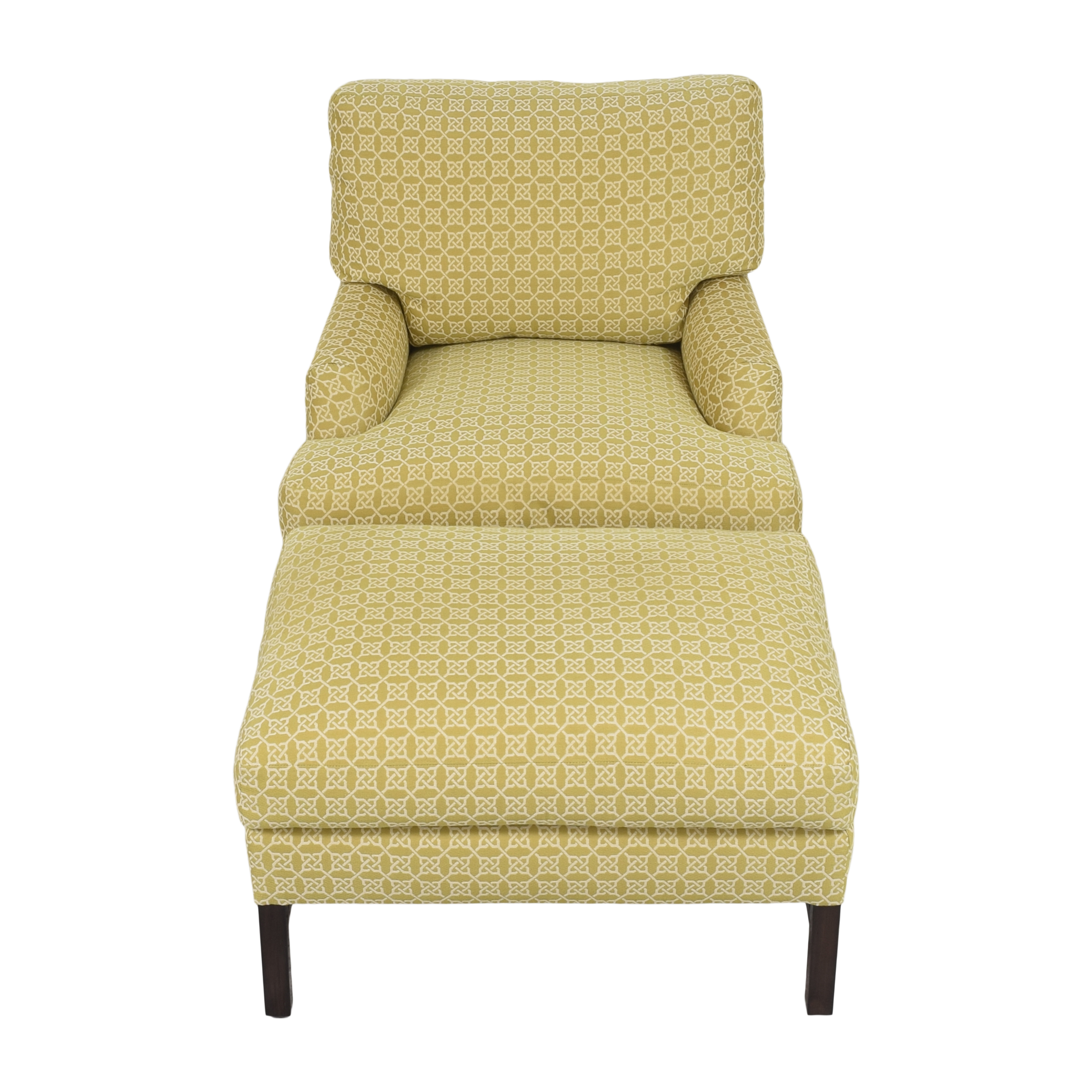 A Rudin A Rudin No 681 Chair and Ottoman second hand