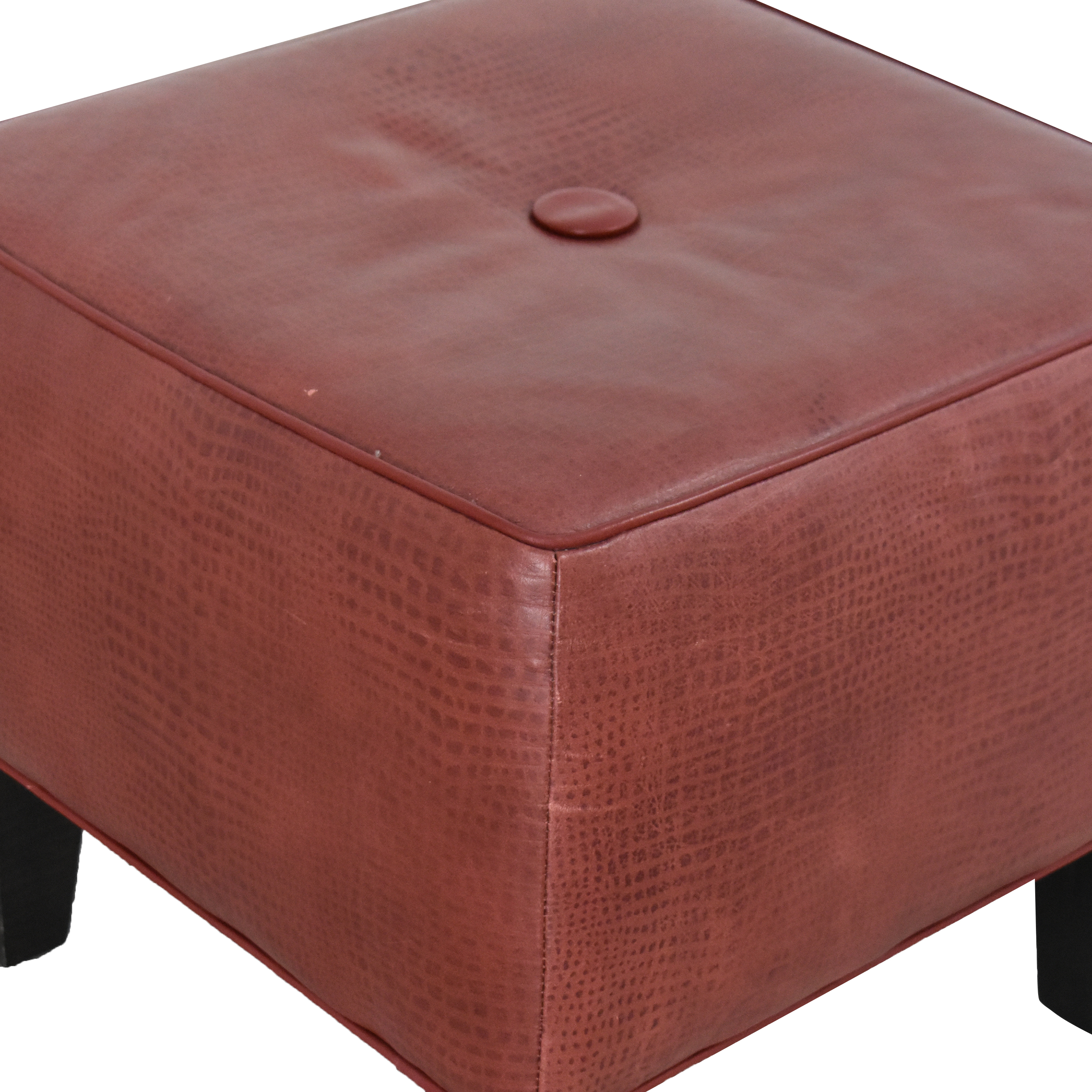 Ethan Allen Ethan Allen Square Ottoman used