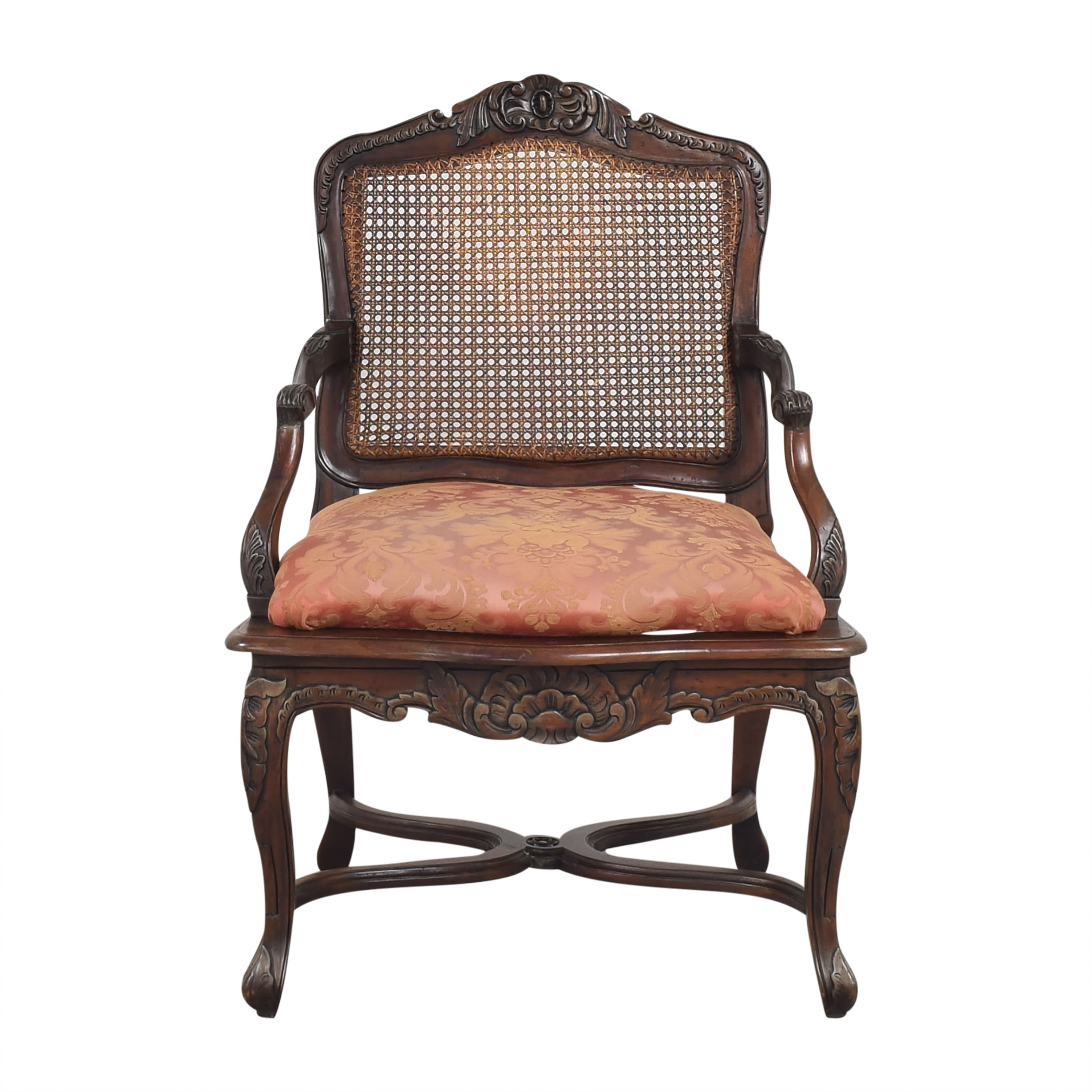 shop Cane Back Accent Chair  Chairs