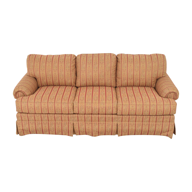 Thomasville Thomasville Skirted Three Cushion Sofa on sale