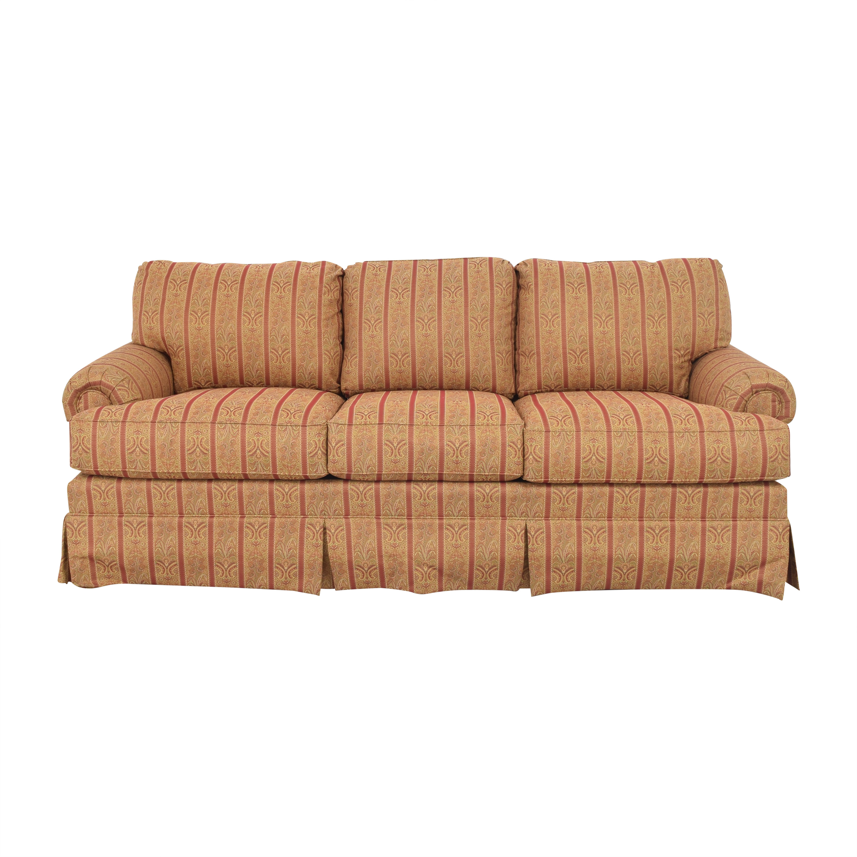Thomasville Thomasville Skirted Three Cushion Sofa second hand