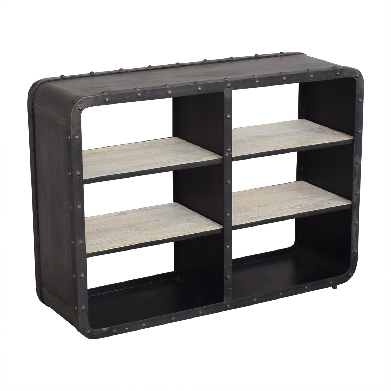 shop RH Baby & Child Montgomery Wide Bookcase RH Baby & Child Bookcases & Shelving