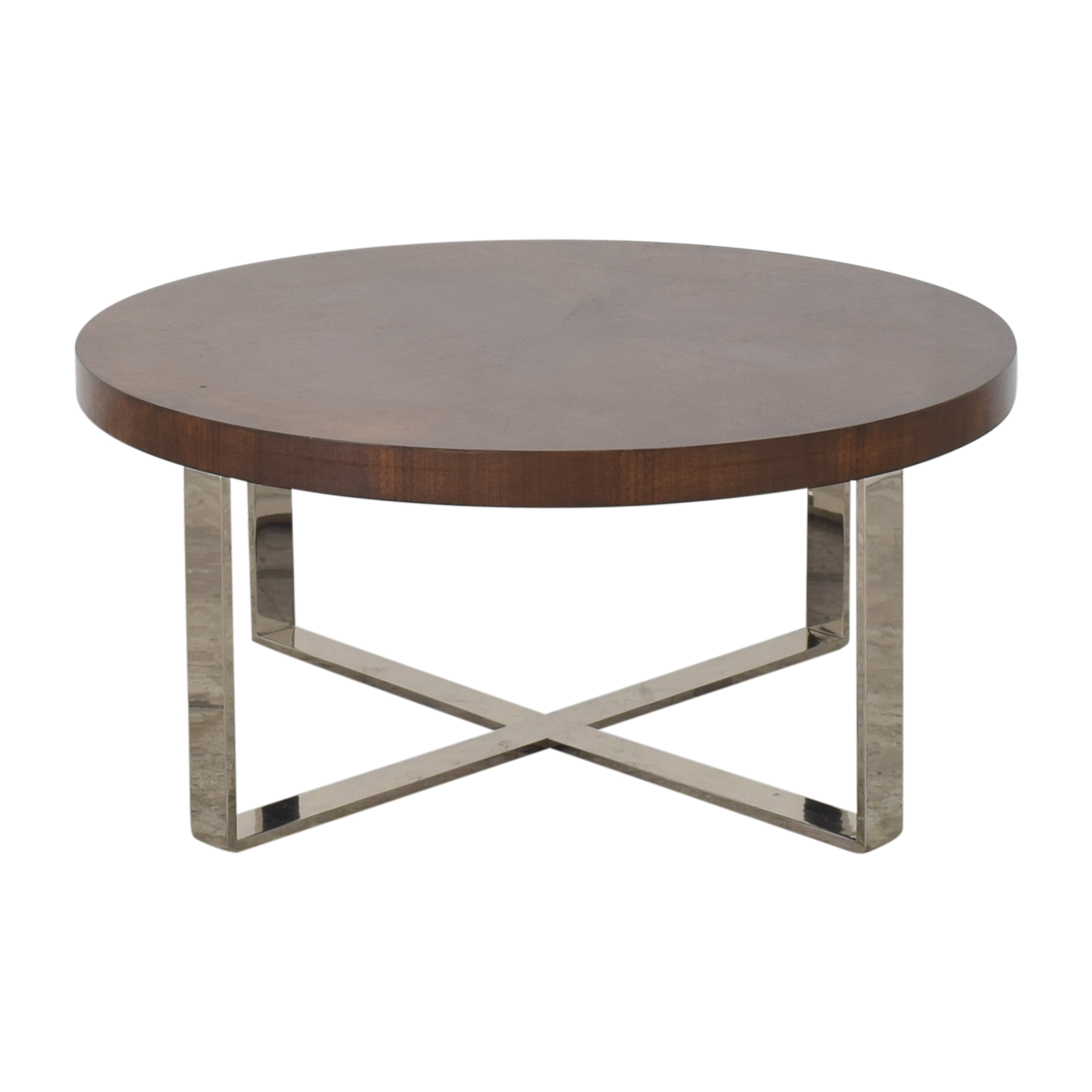 Williams Sonoma Round Cocktail Table / Tables