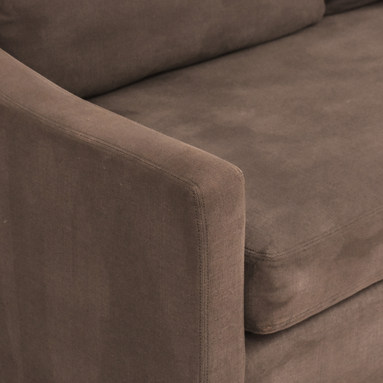 Restoration Hardware Restoration Hardware Belgian Classic Slope Arm Sofa on sale