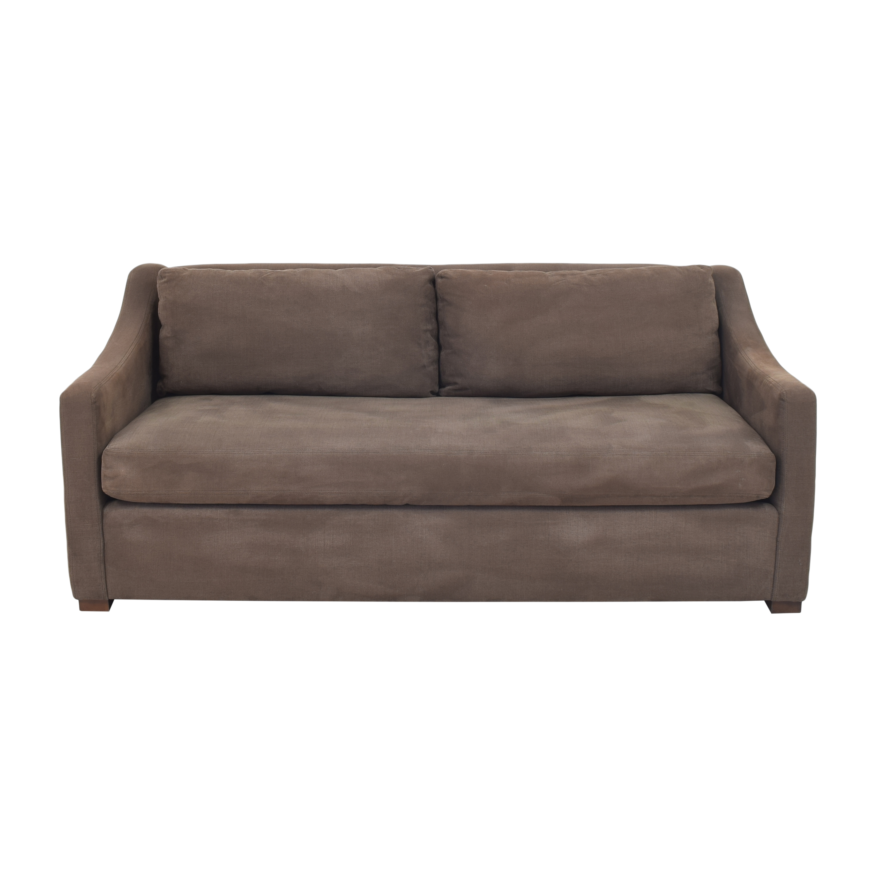 buy Restoration Hardware Belgian Classic Slope Arm Sofa Restoration Hardware