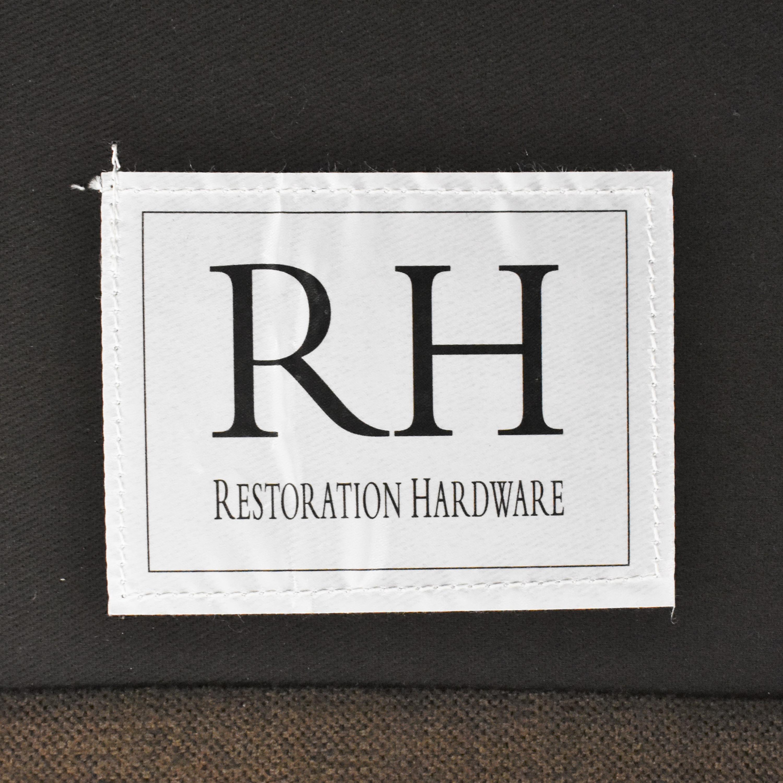 Restoration Hardware Belgian Classic Slope Arm Sofa / Sofas