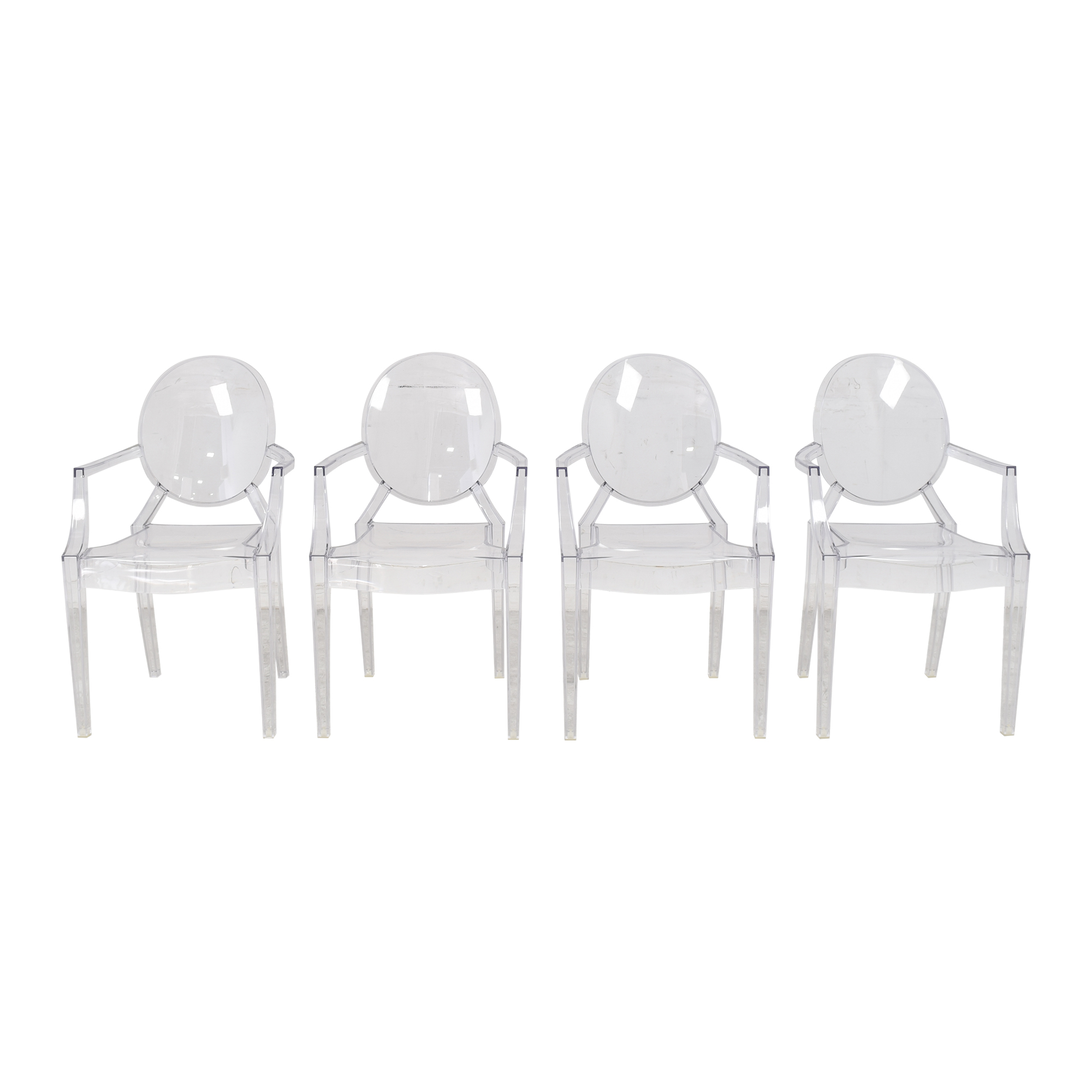 shop Kartell Louis Ghost Chairs Kartell Dining Chairs