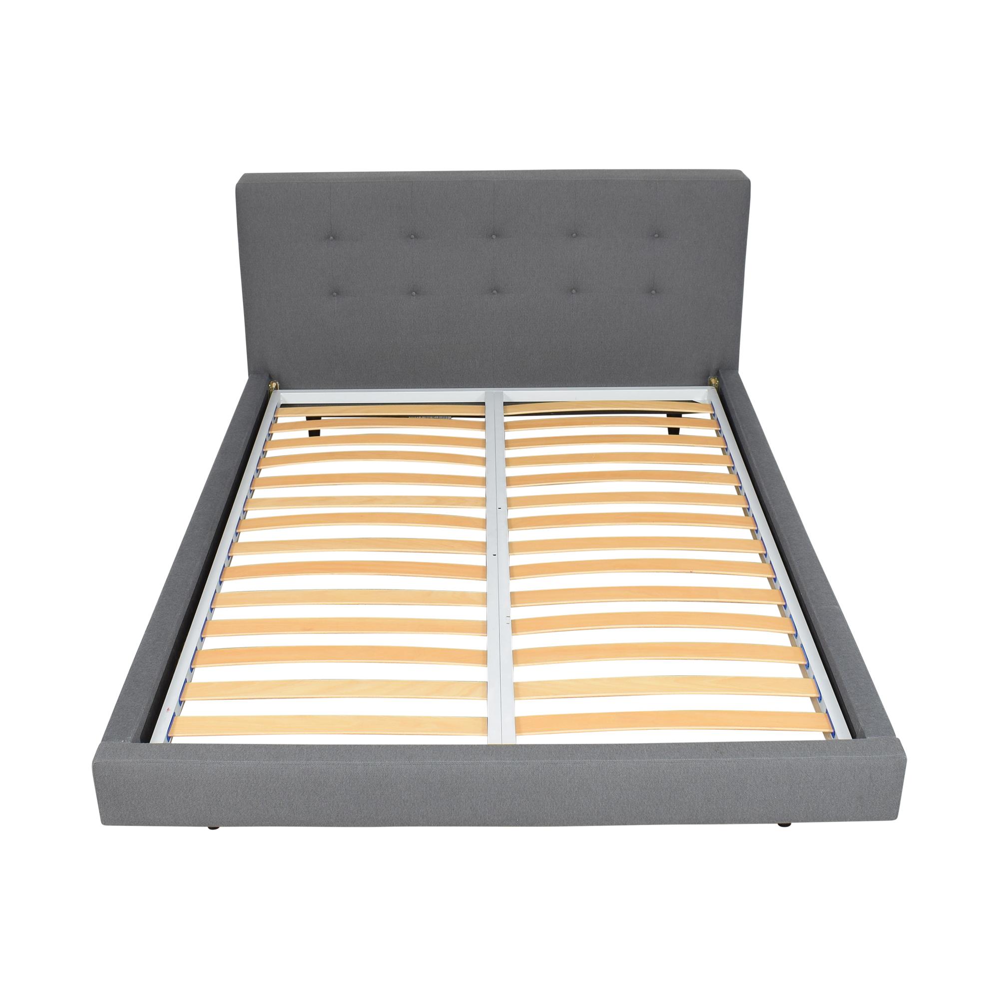 shop Crate & Barrel Crate & Barrel Tate Upholstered Queen Bed online