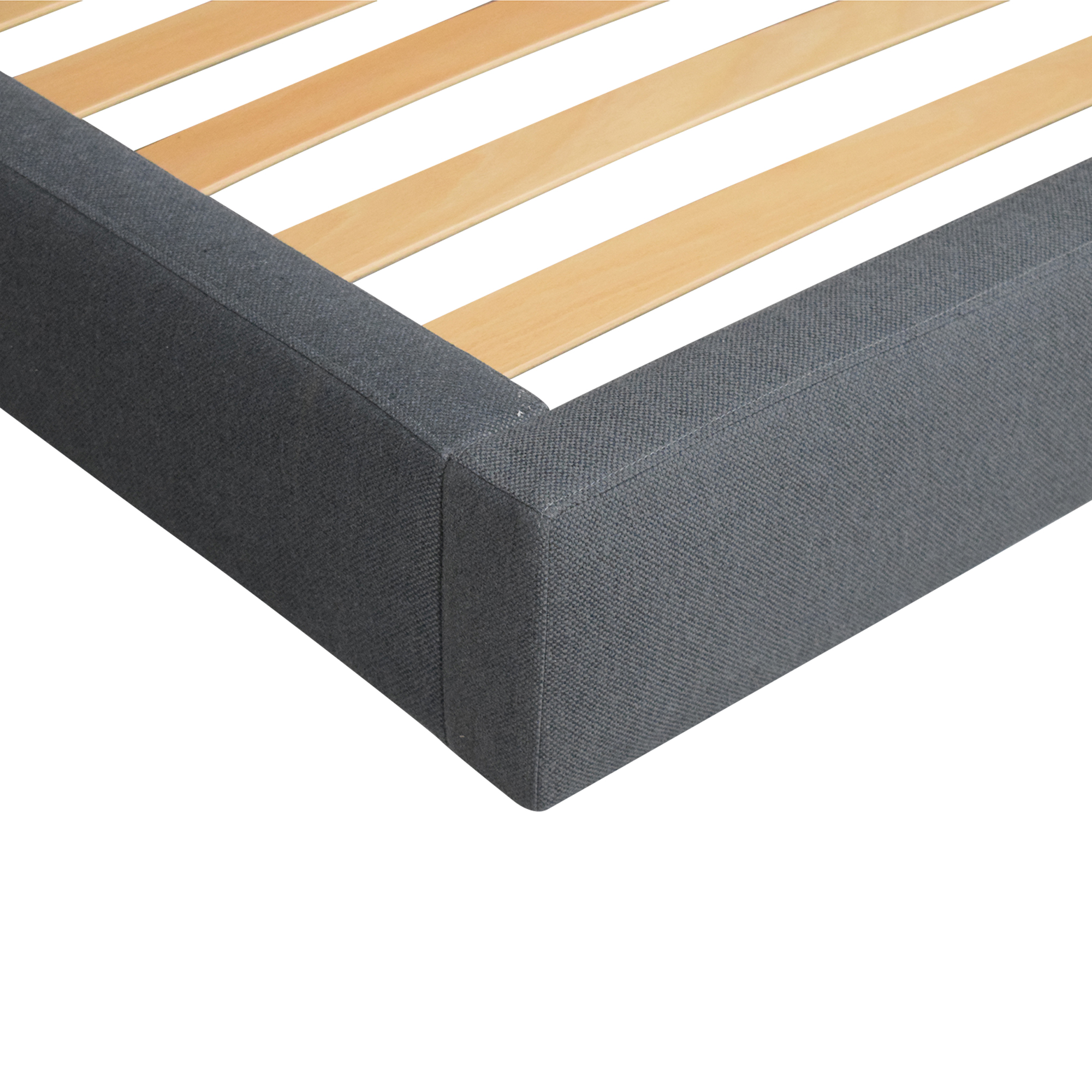 Crate & Barrel Crate & Barrel Tate Upholstered Queen Bed