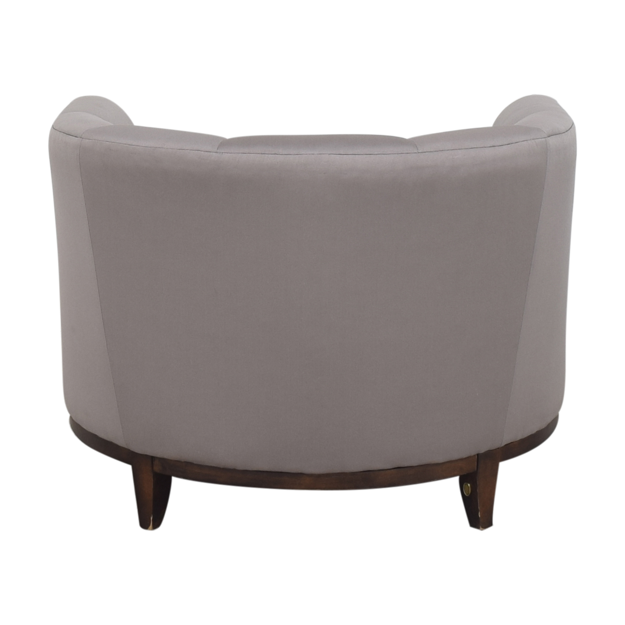 shop Barbara Barry for Henredon Channel Back Tub Chair Barbara Barry Accent Chairs