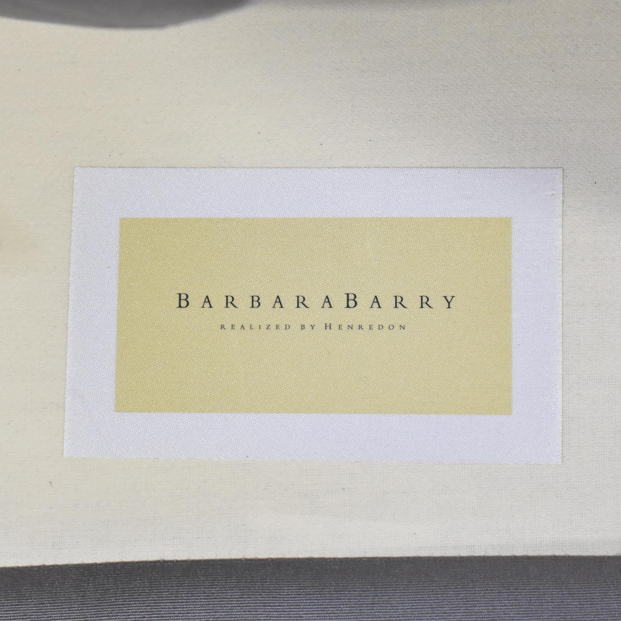 Barbara Barry Barbara Barry for Henredon Channel Back Tub Chair nyc