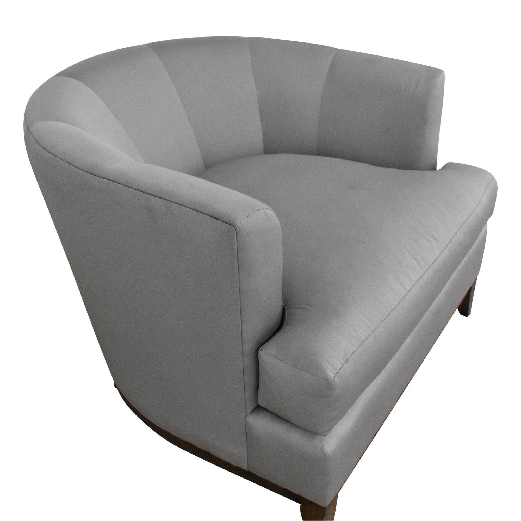 shop Barbara Barry Barbara Barry for Henredon Channel Back Tub Chair online