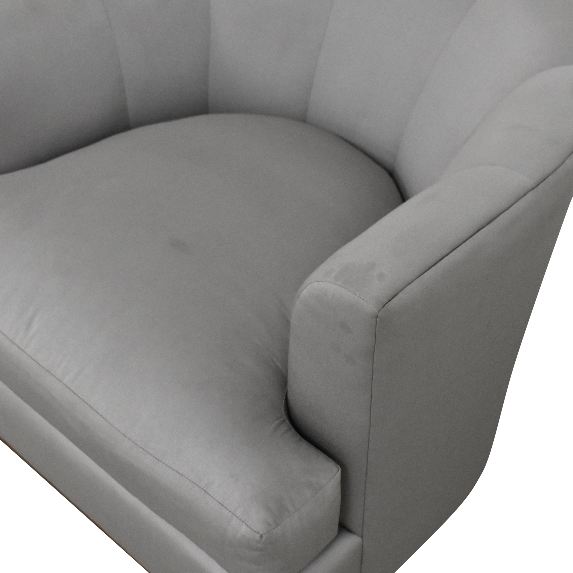 shop Barbara Barry for Henredon Channel Back Tub Chair Barbara Barry