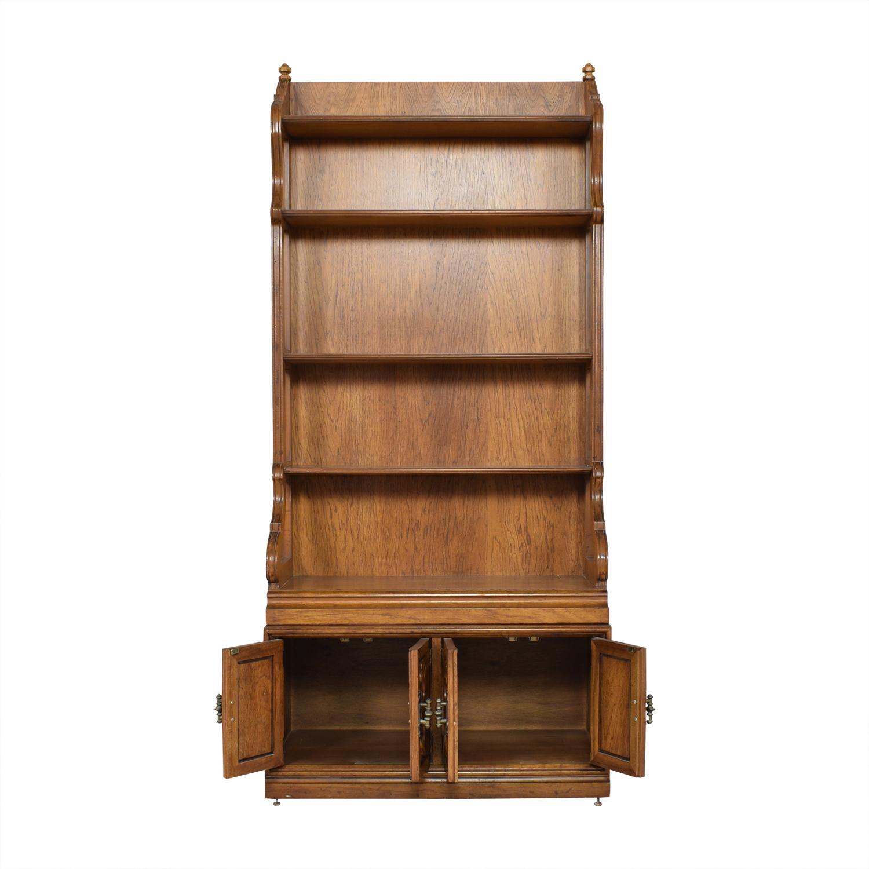 Drexel Velero Cabinet Bookcase / Bookcases & Shelving