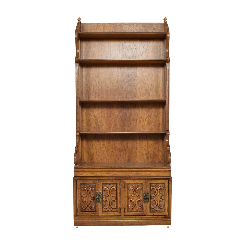buy Drexel Velero Cabinet Bookcase Drexel Bookcases & Shelving