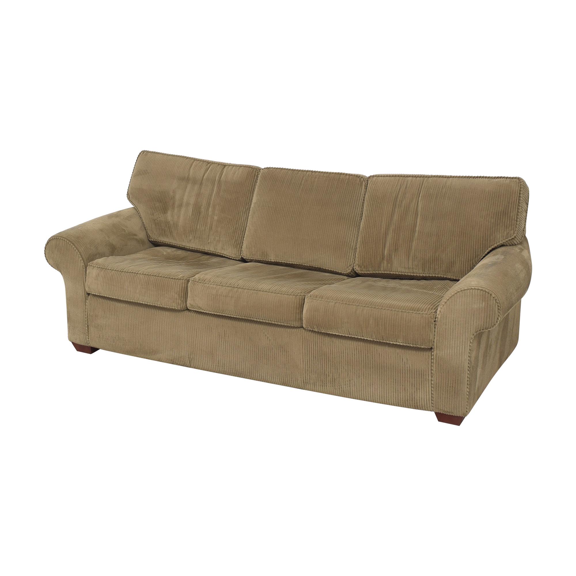 Sealy Sealy Three Cushion Sleeper Sofa Sofa Beds