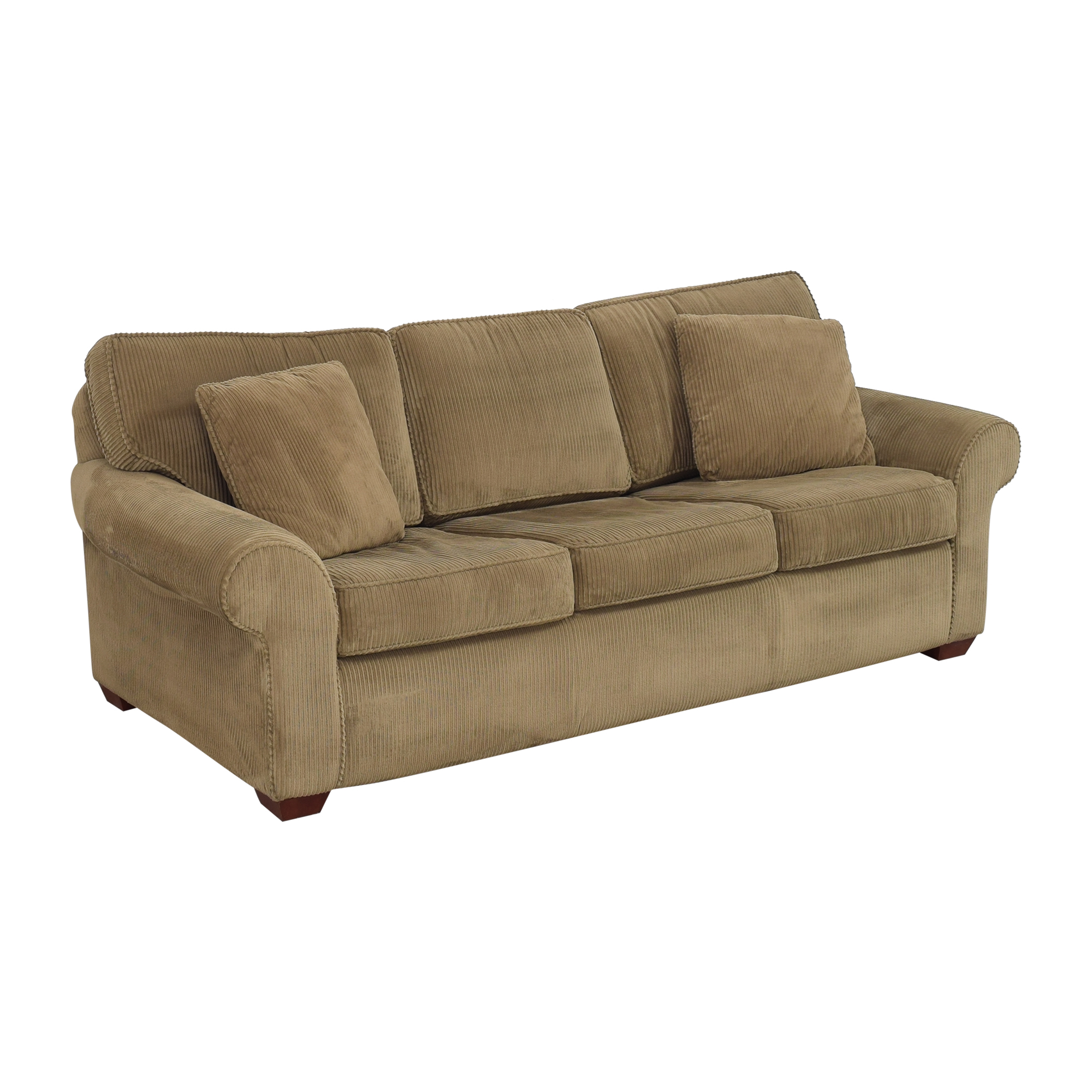 Sealy Sealy Three Cushion Sleeper Sofa Sofas