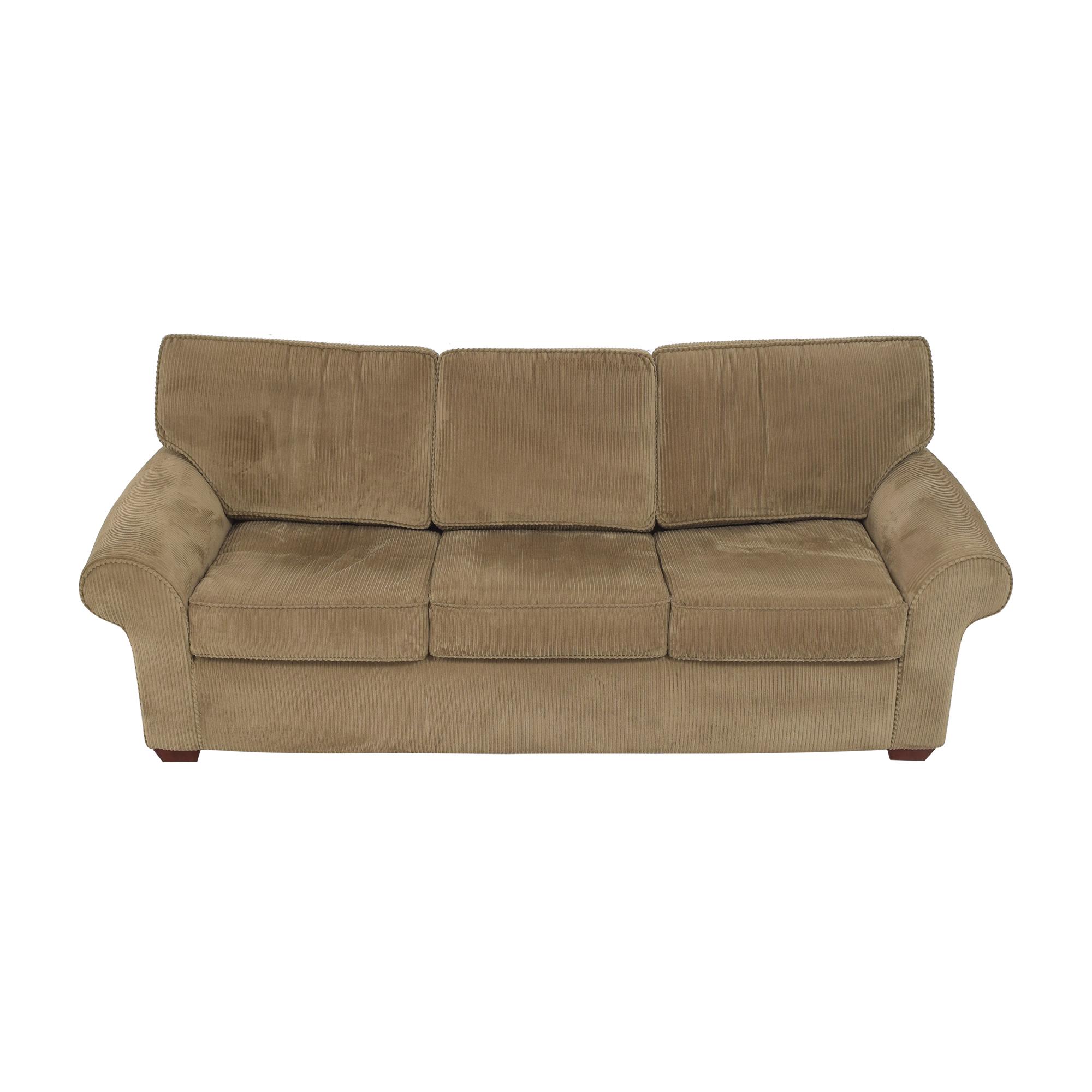 buy Sealy Three Cushion Sleeper Sofa Sealy Sofas