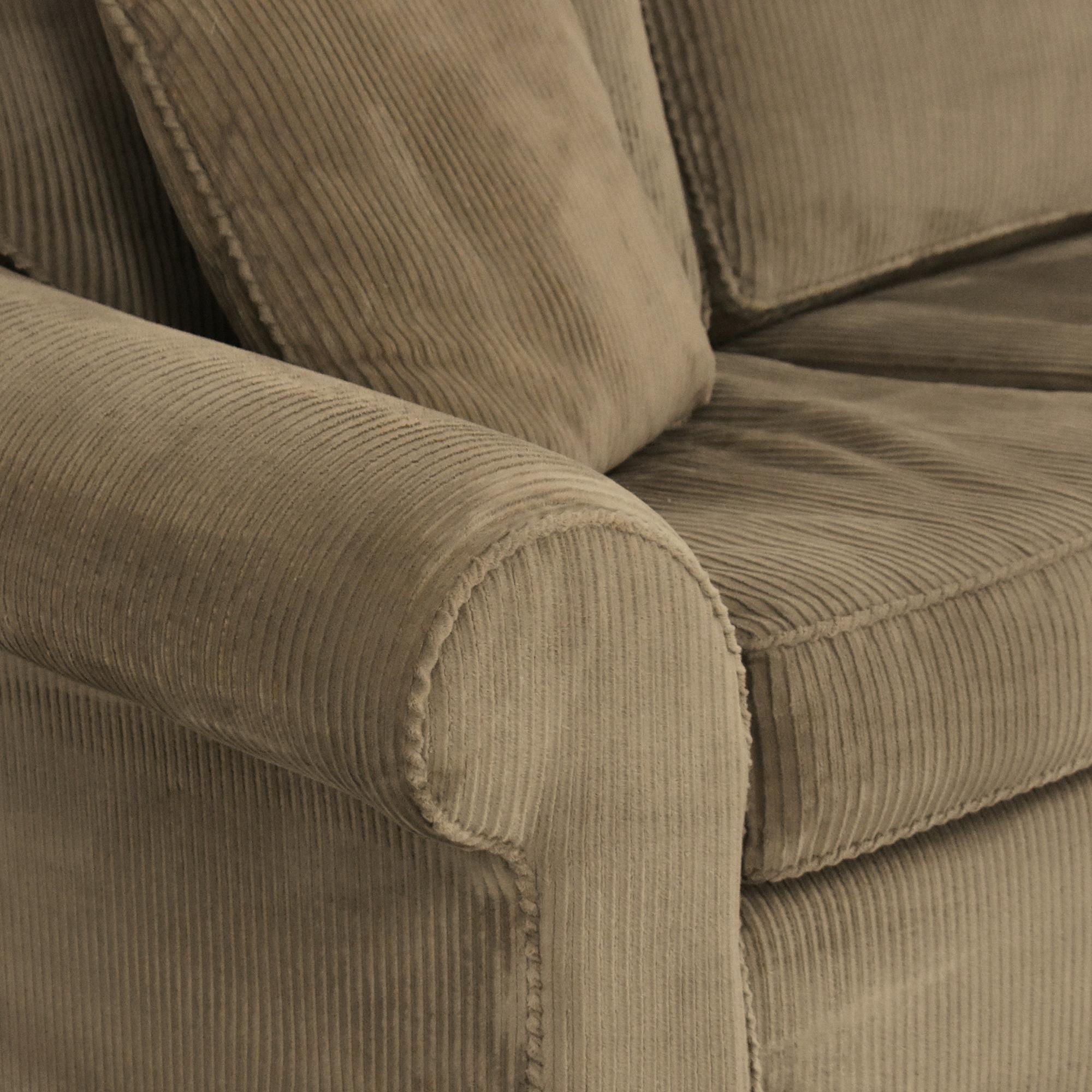 Sealy Sealy Three Cushion Sleeper Sofa for sale