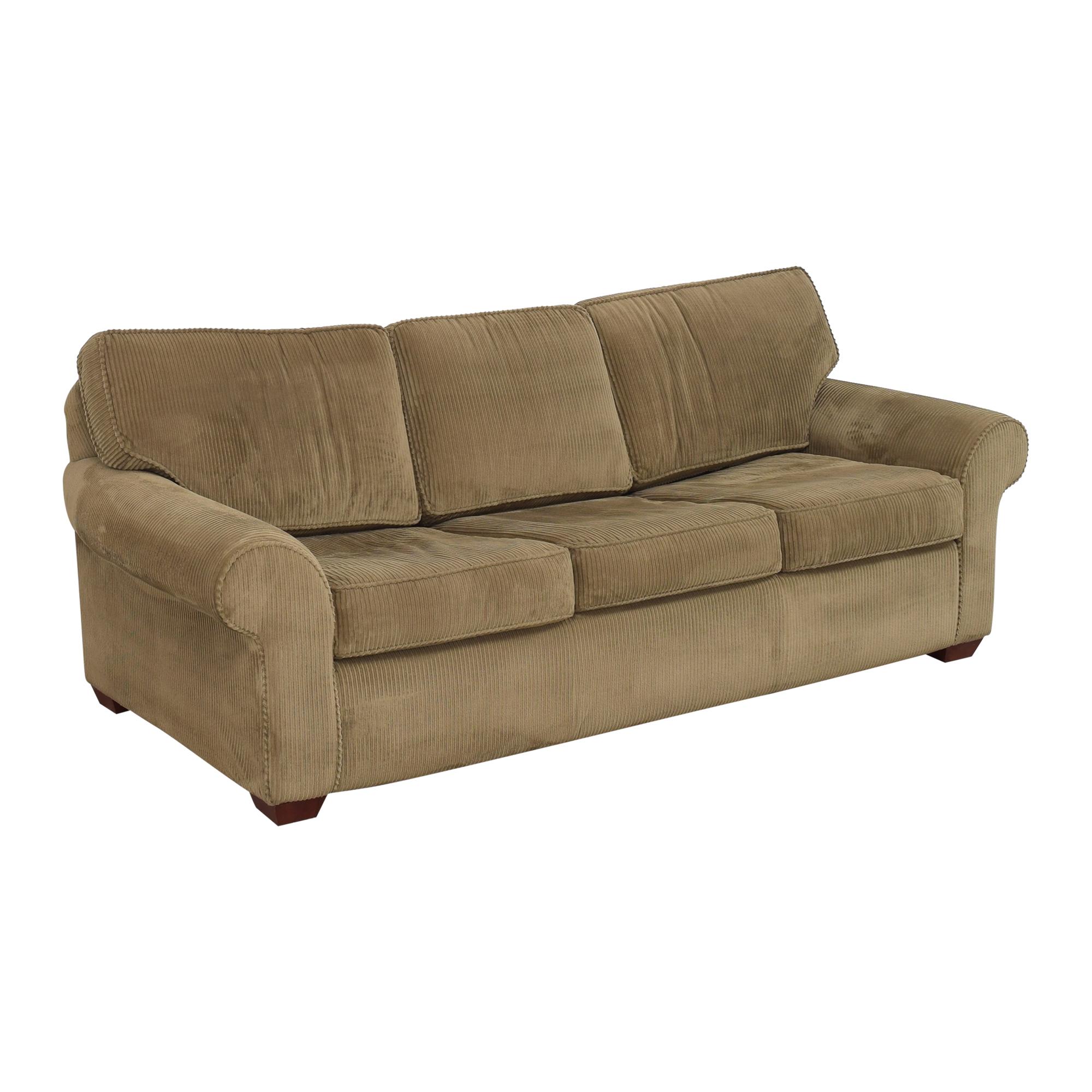 buy Sealy Three Cushion Sleeper Sofa Sealy