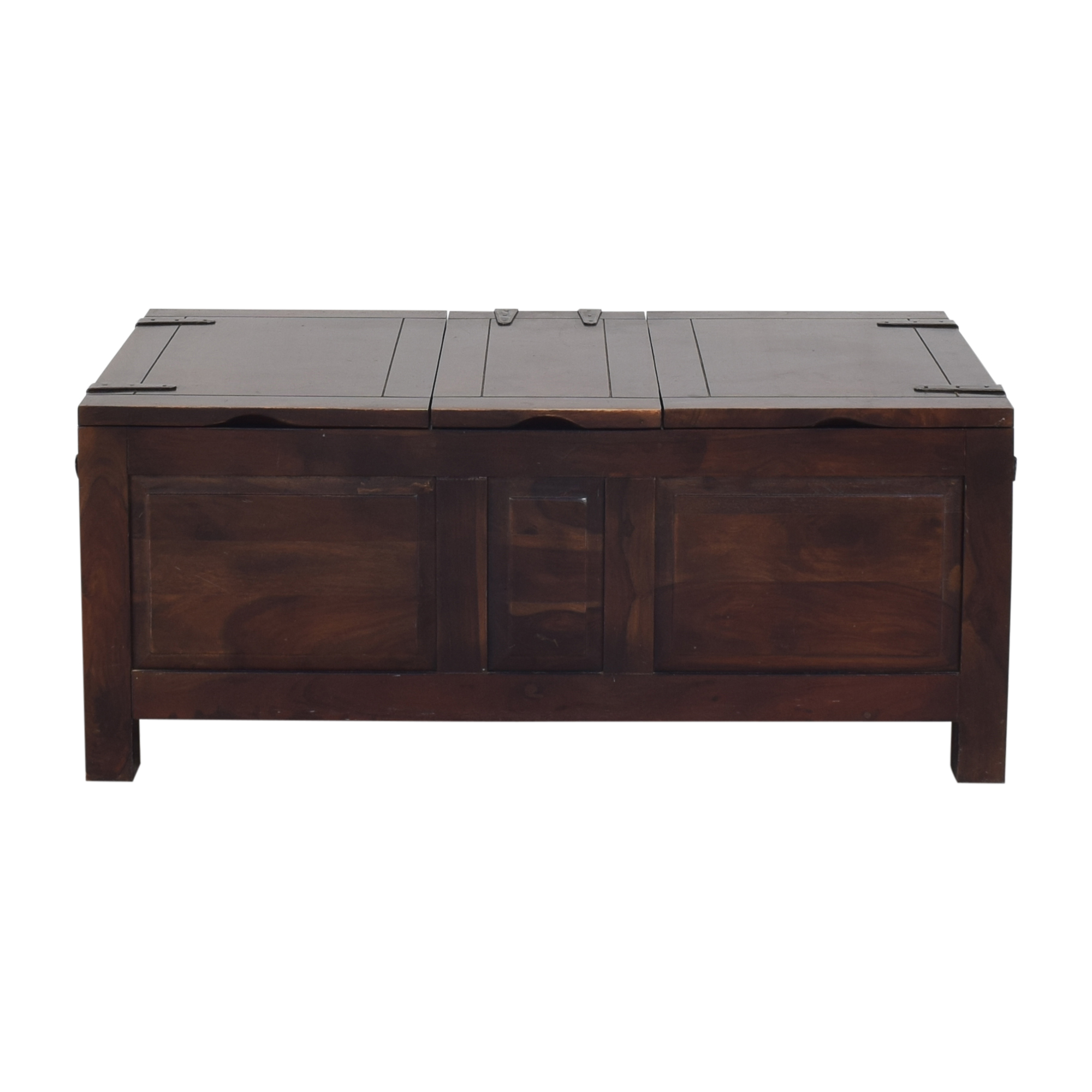 Crate & Barrel Crate & Barrel Hunter II Trunk Storage Coffee Table