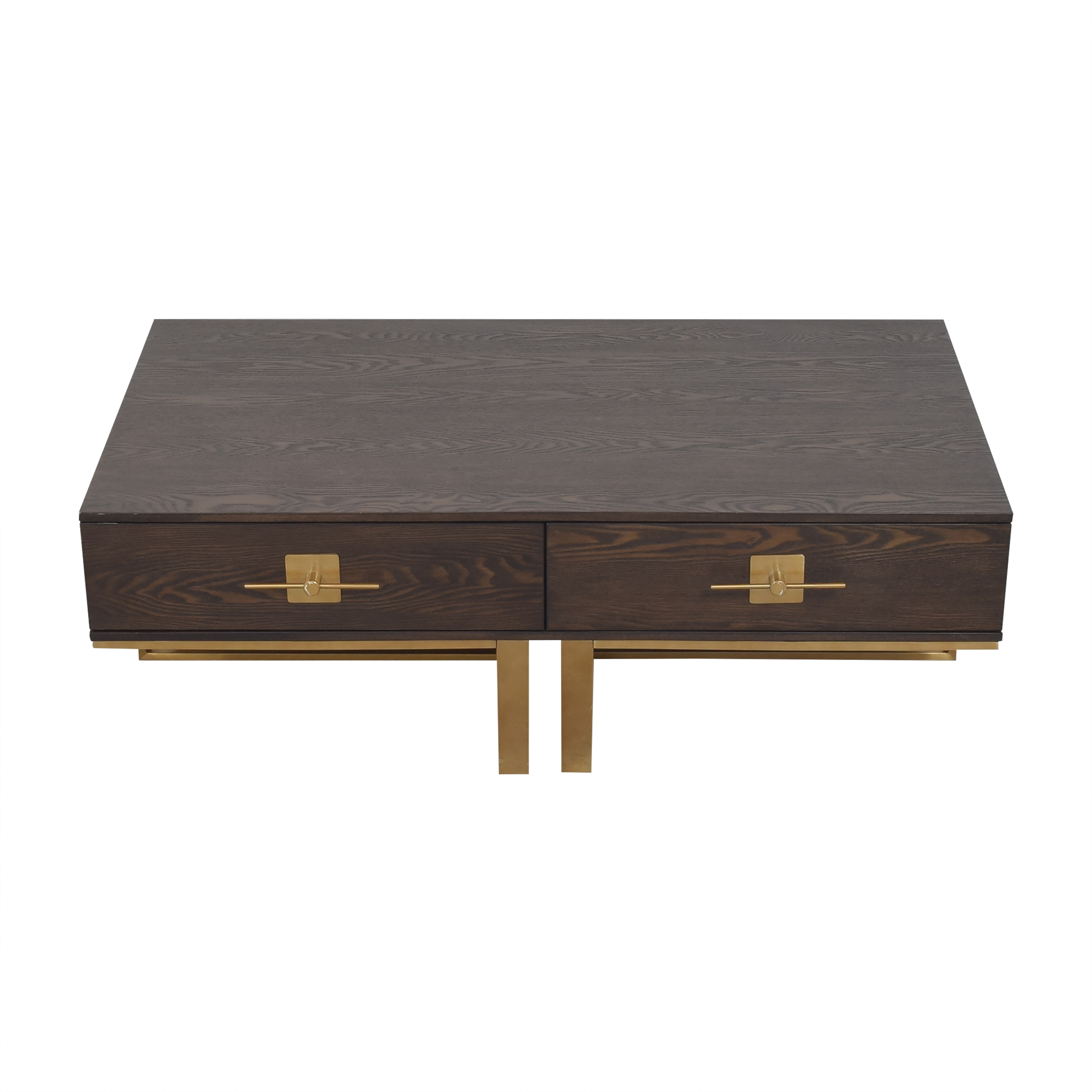 Coast to Coast Accents Coast to Coast Accents Two Drawer Coffee Table for sale