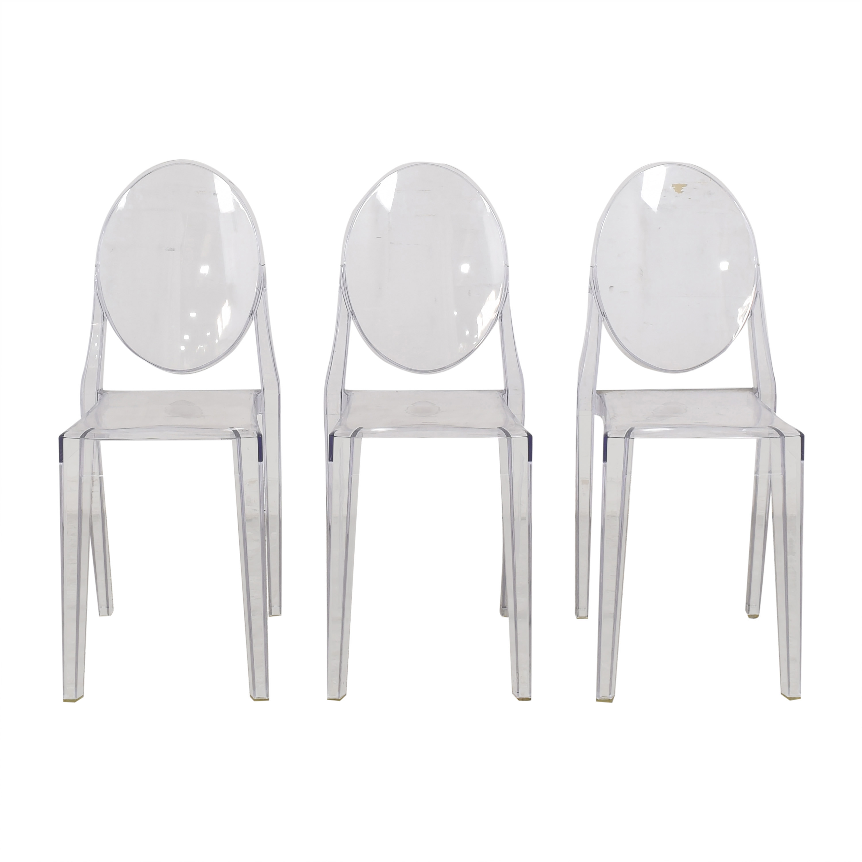 Kartell Kartell Victoria Ghost Chairs ma