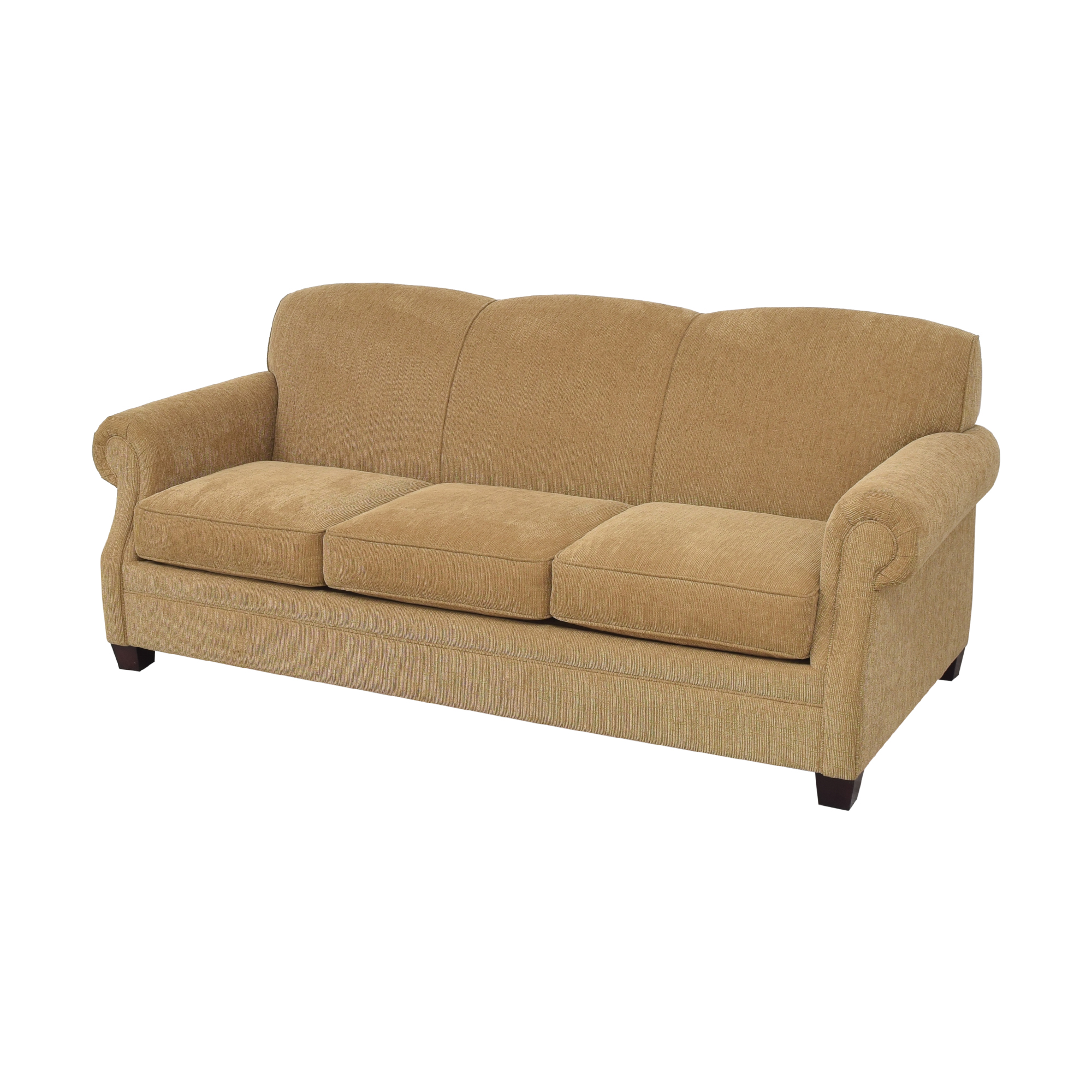 Bauhaus Furniture Bauhaus Furniture Wellington Roll Arm Sofa tan