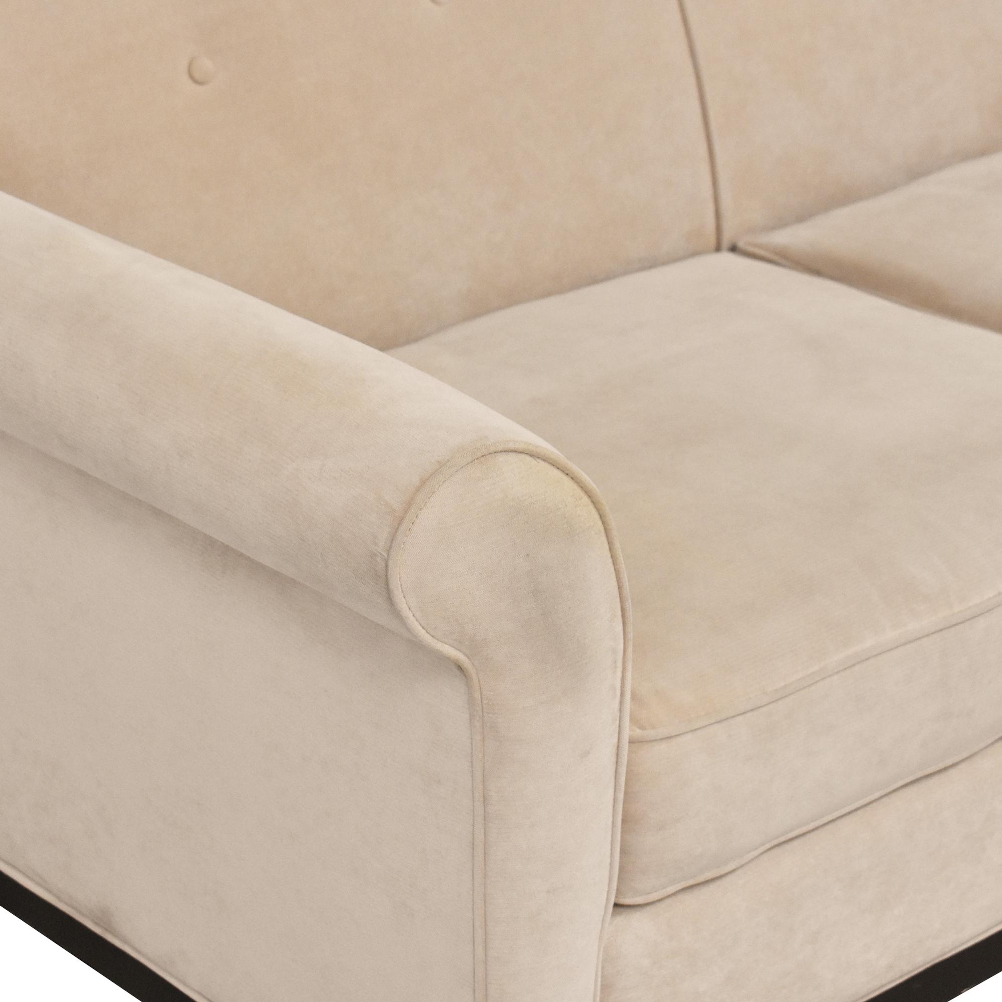 Three Cushion Roll Arm Sofa pa